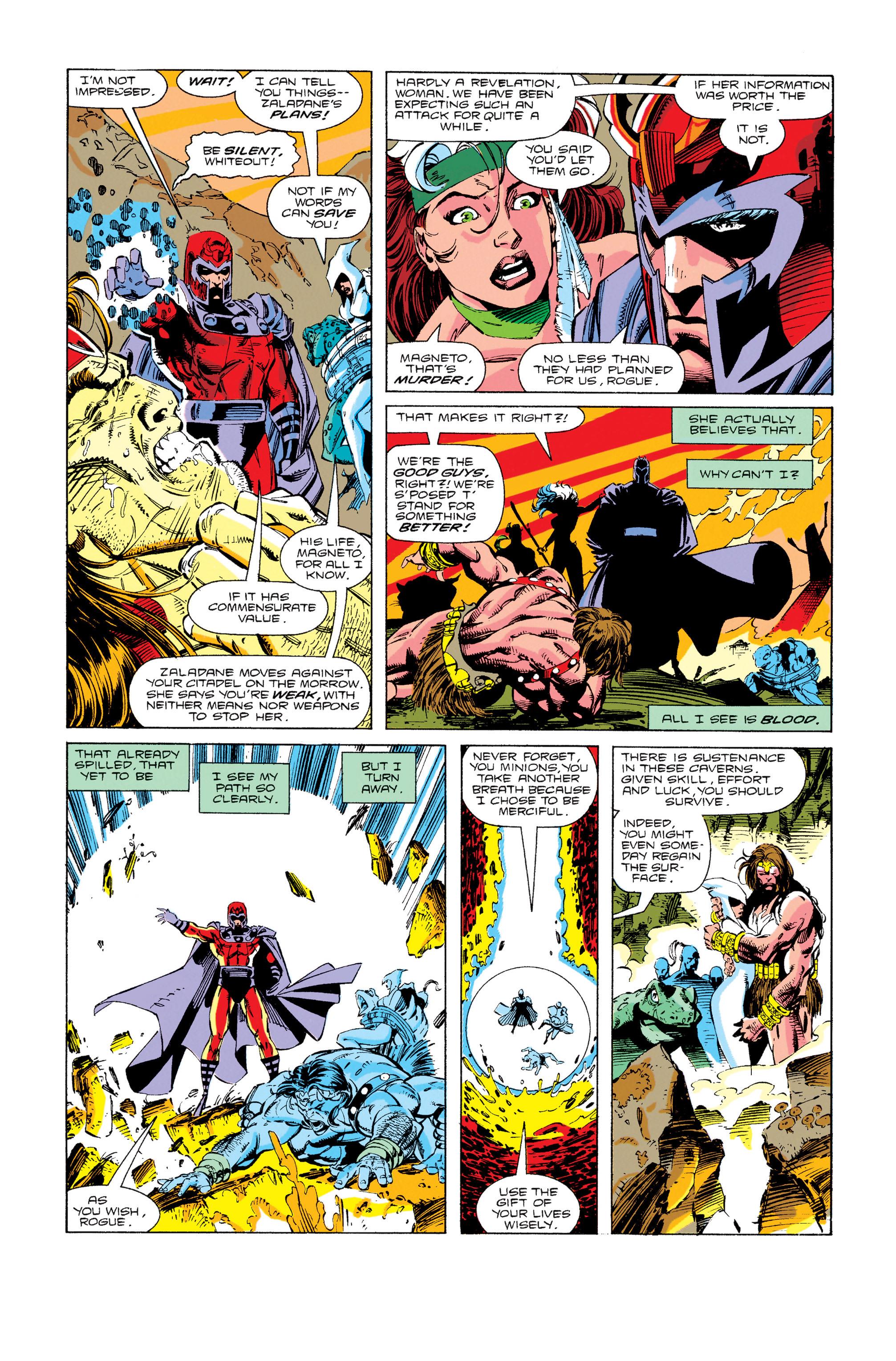 Read online Uncanny X-Men (1963) comic -  Issue #274 - 7