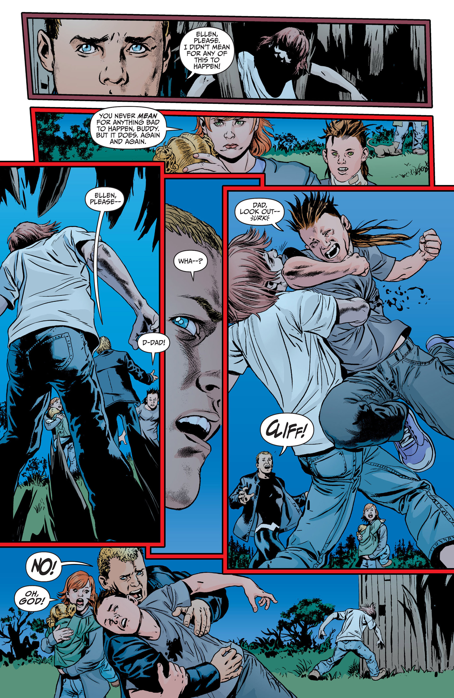 Read online Animal Man (2011) comic -  Issue #18 - 18