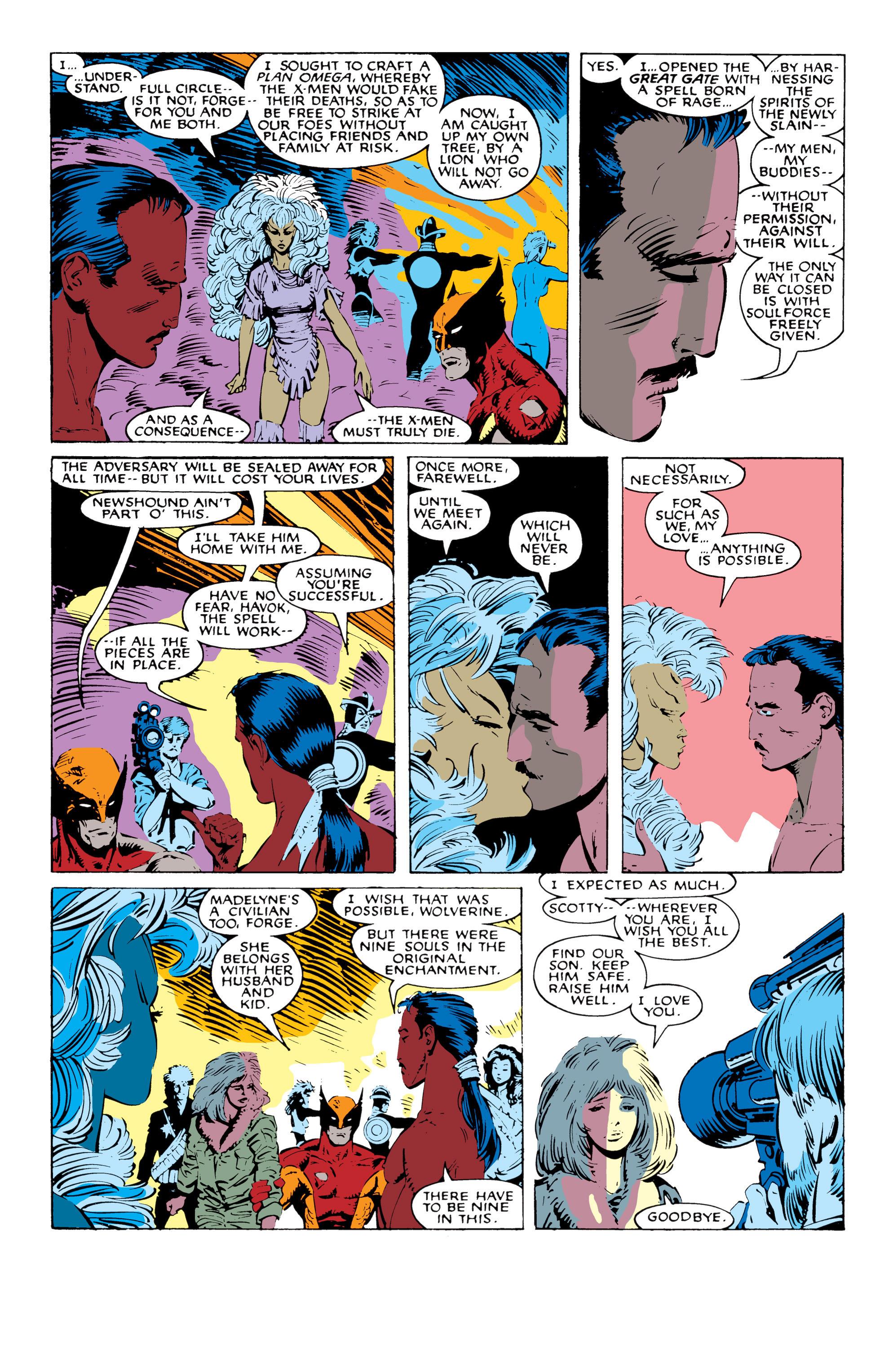 Read online Uncanny X-Men (1963) comic -  Issue #227 - 18