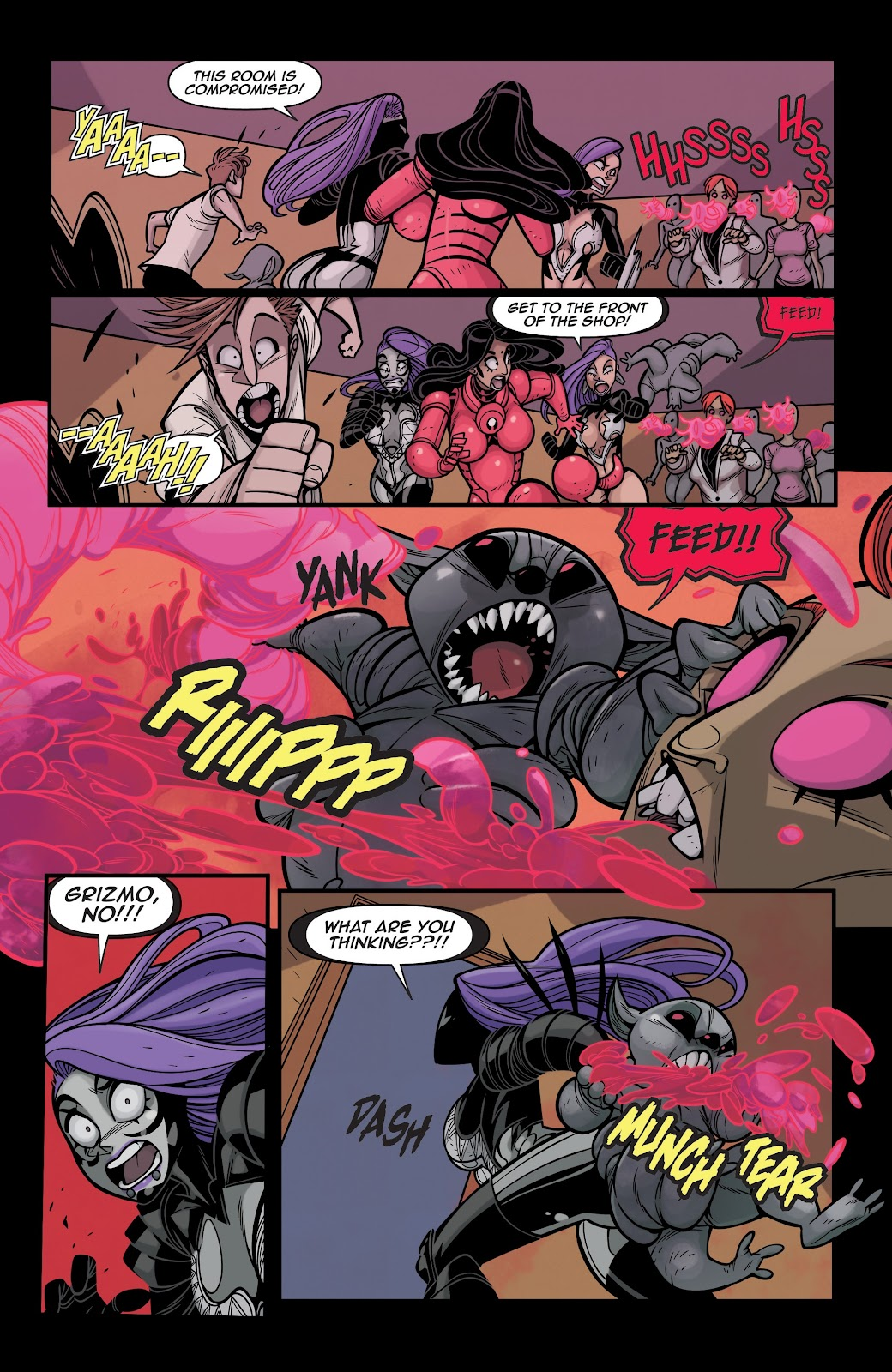 Read online Vampblade Season 3 comic -  Issue #12 - 9