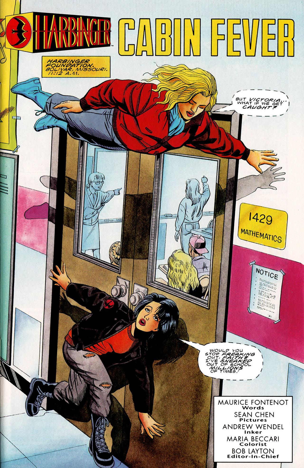 Read online Harbinger (1992) comic -  Issue #27 - 2