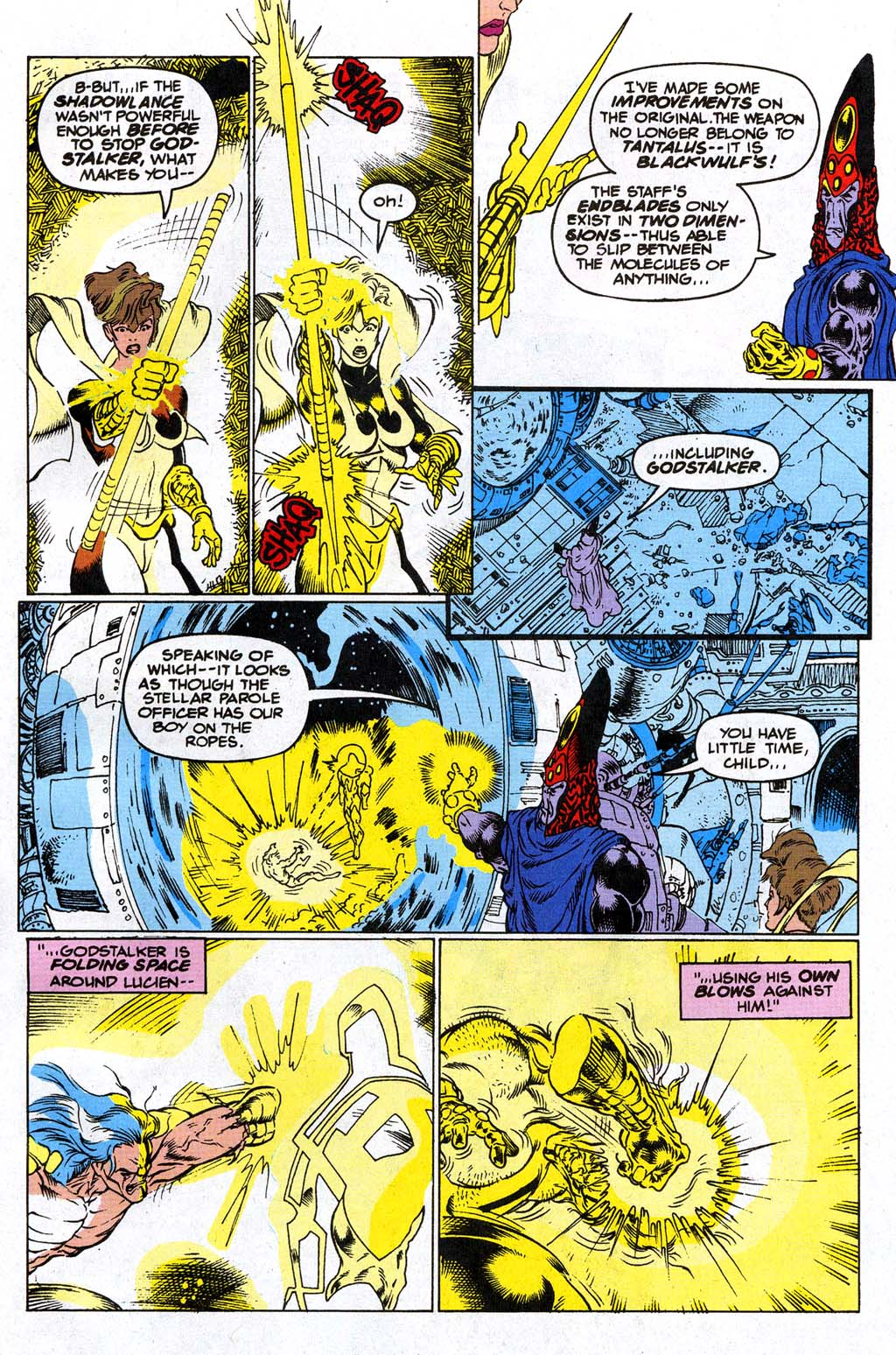 Read online Blackwulf comic -  Issue #9 - 17