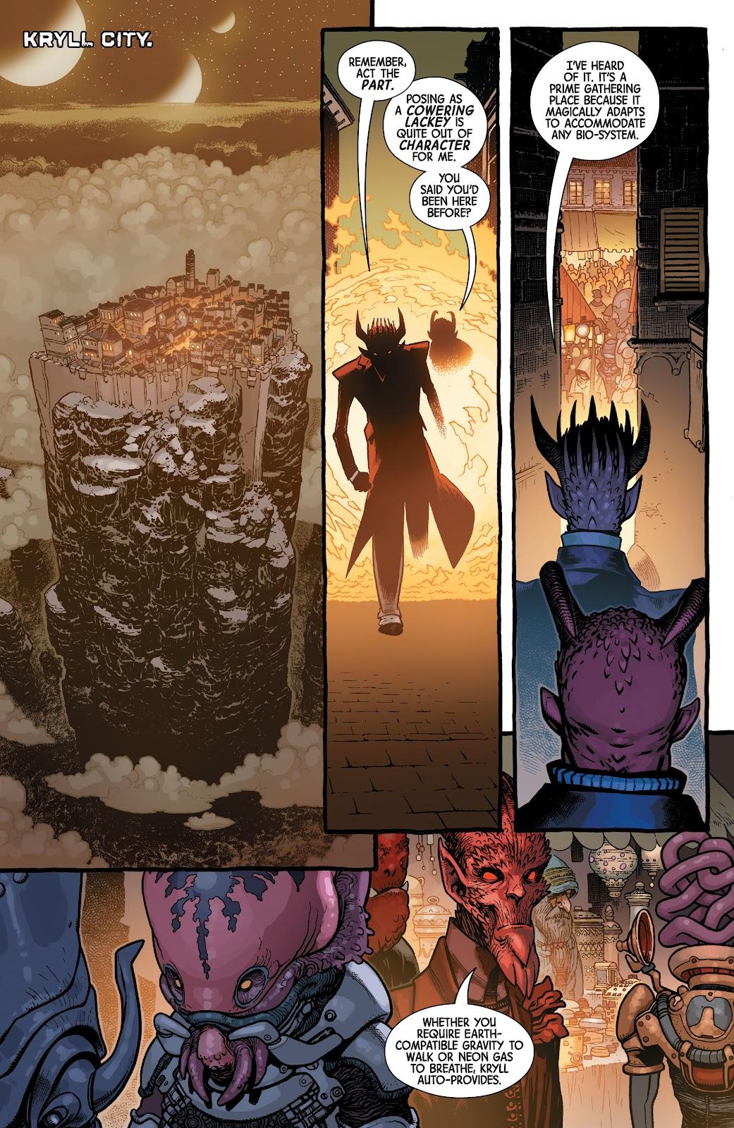 Read online Dr. Strange comic -  Issue #5 - 16