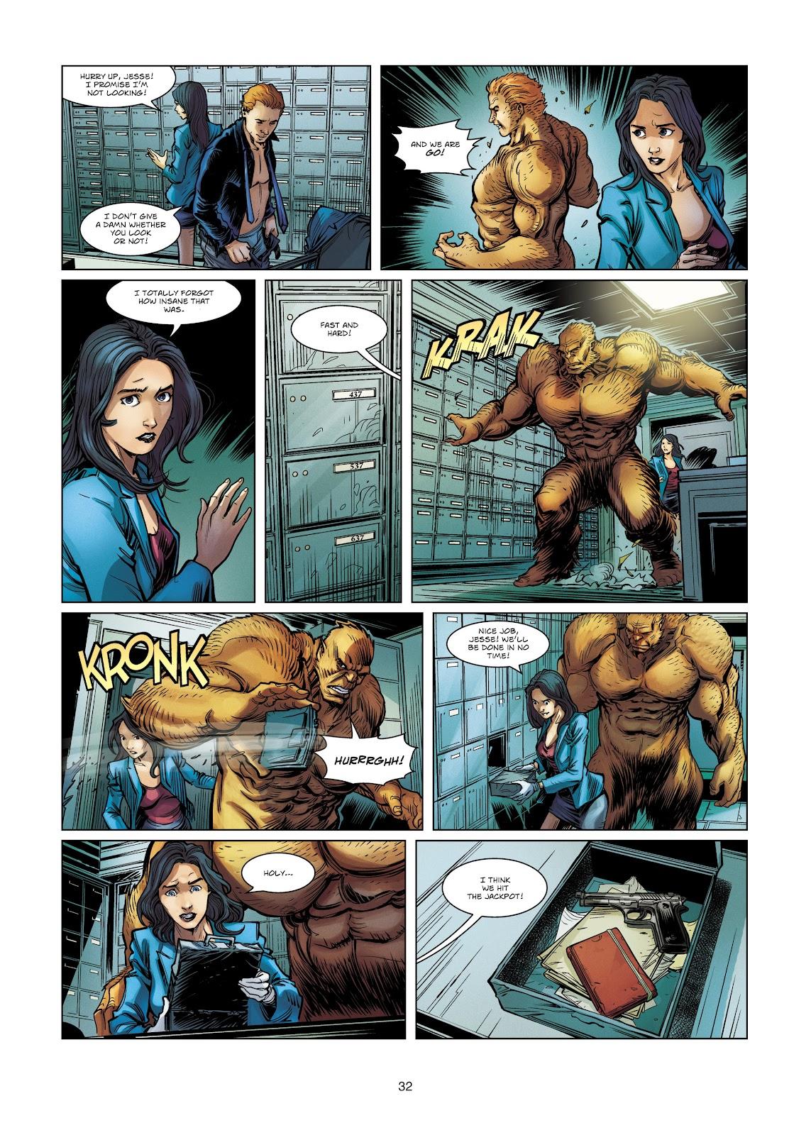Read online Vigilantes comic -  Issue #4 - 32