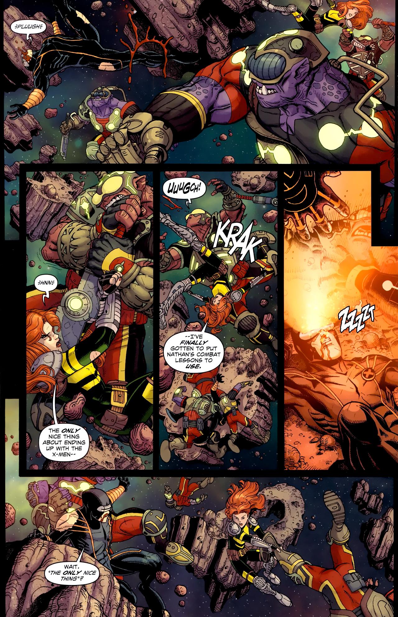 Read online Uncanny X-Men (1963) comic -  Issue # _Annual 3 (2011) - 25