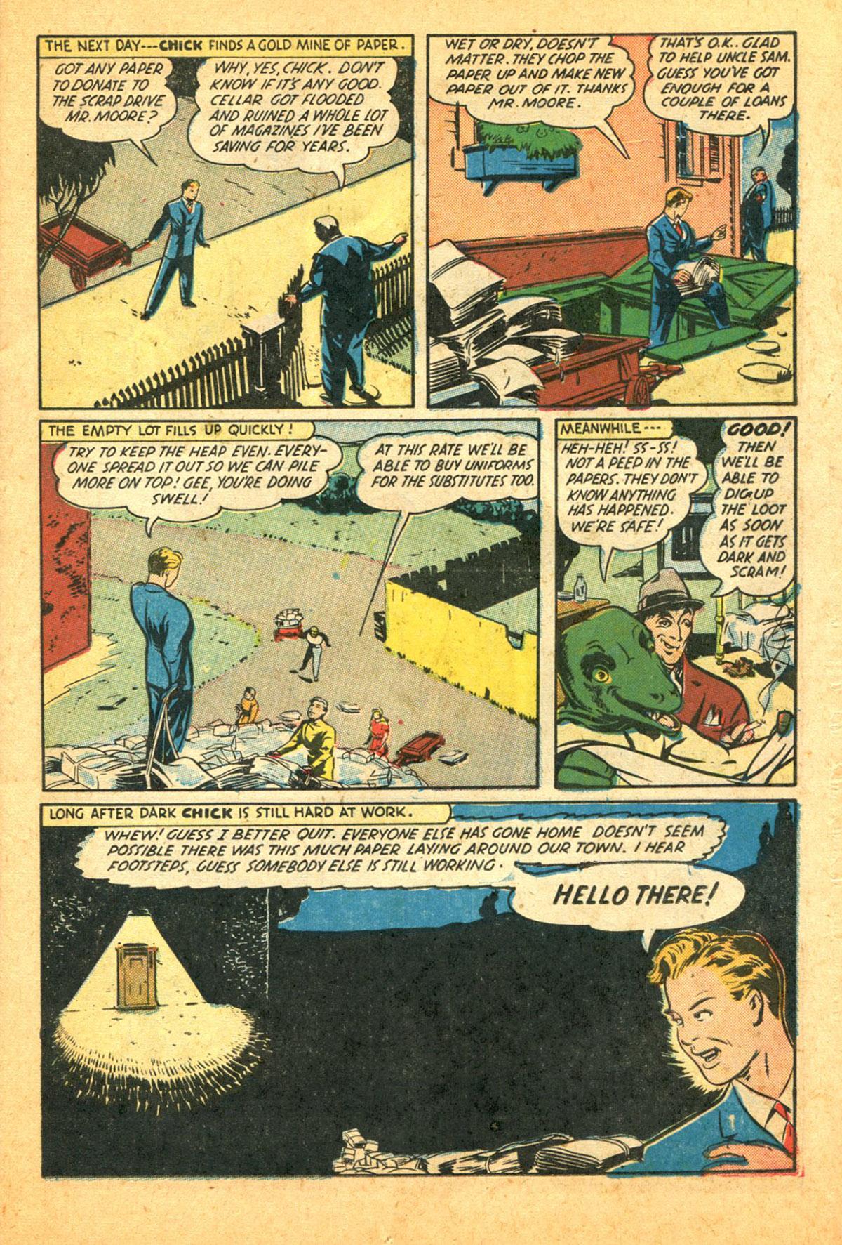 Read online Shadow Comics comic -  Issue #38 - 29