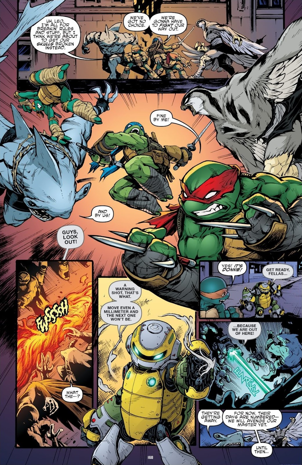 Read online Teenage Mutant Ninja Turtles: The IDW Collection comic -  Issue # TPB 6 (Part 2) - 66