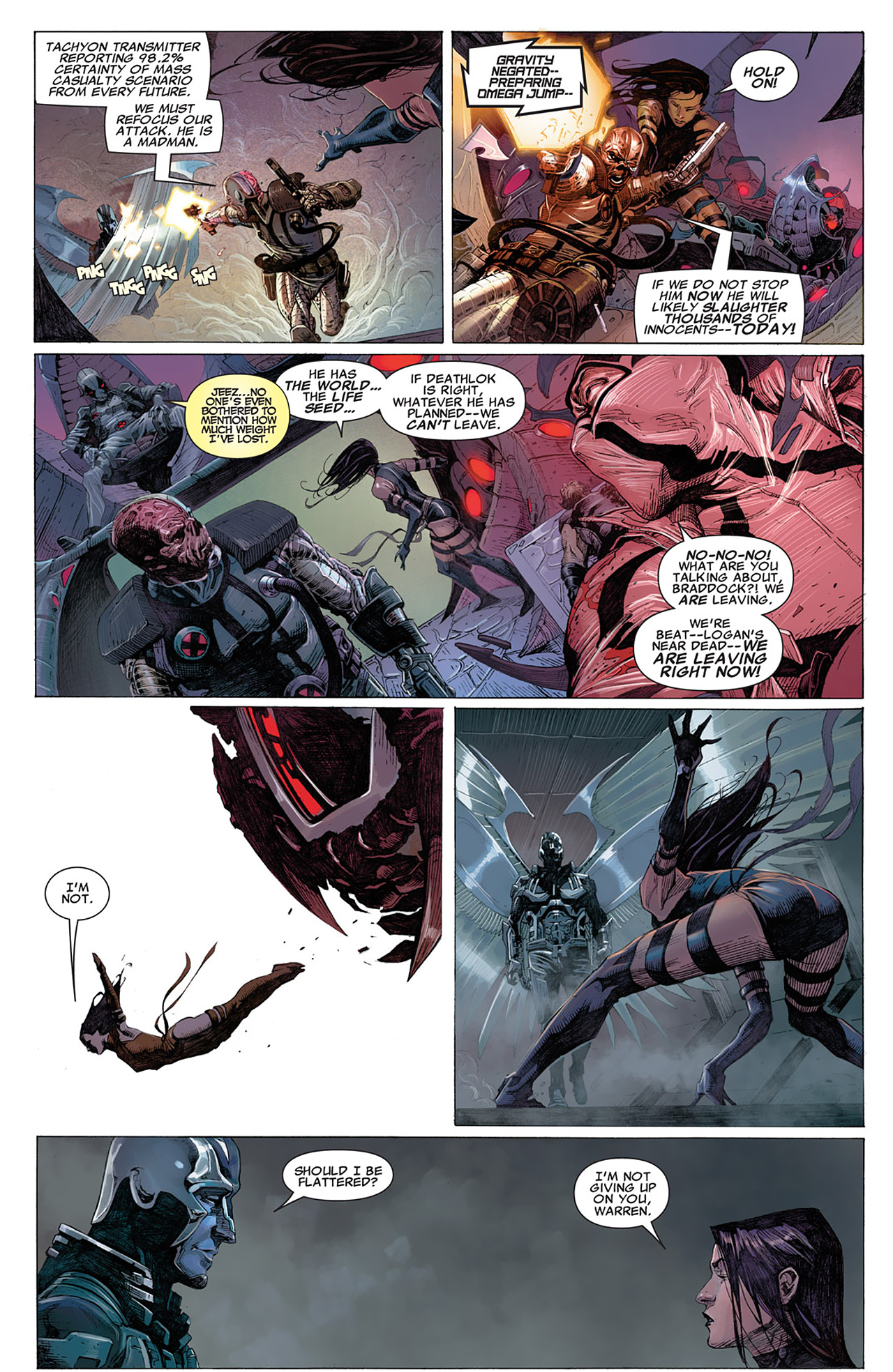 Read online Uncanny X-Force (2010) comic -  Issue #14 - 14