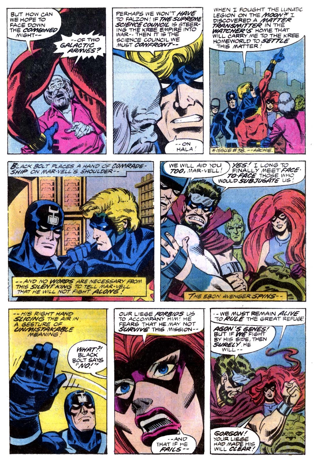 Captain Marvel (1968) issue 53 - Page 6