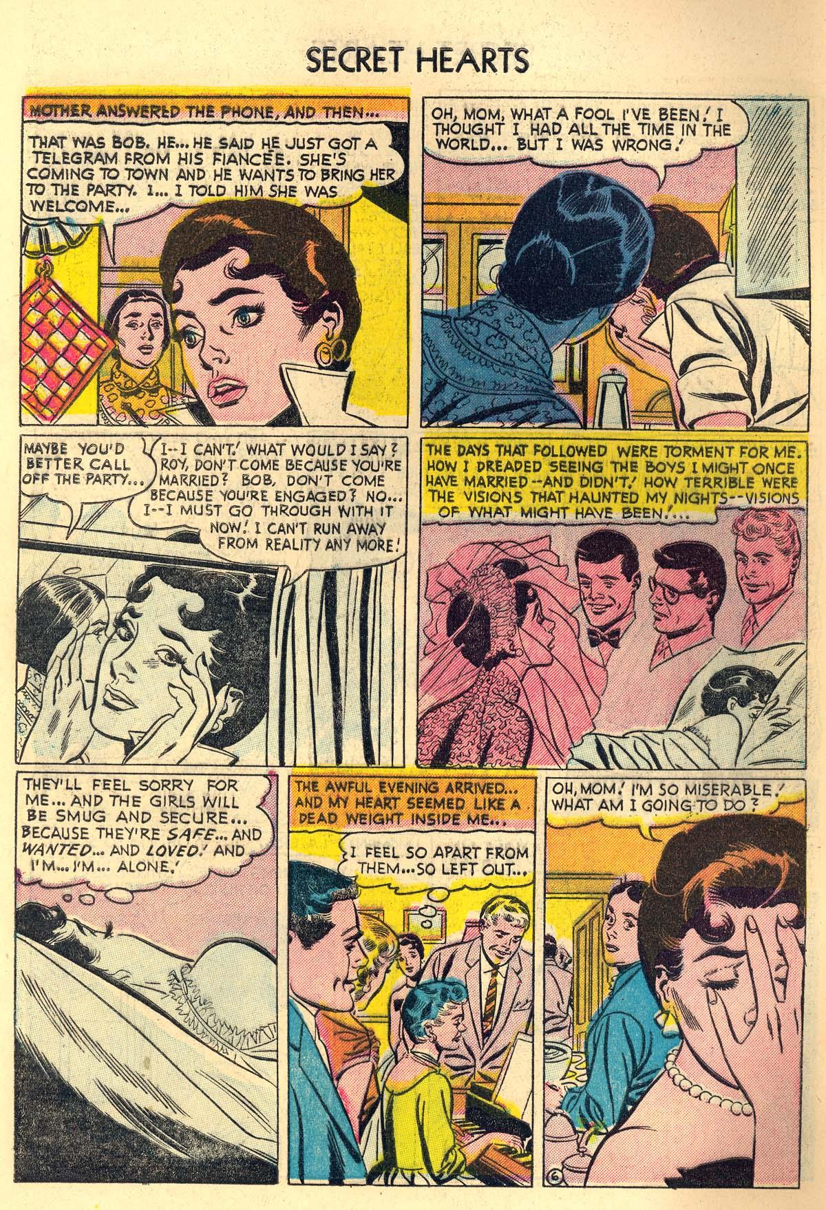 Read online Secret Hearts comic -  Issue #30 - 8