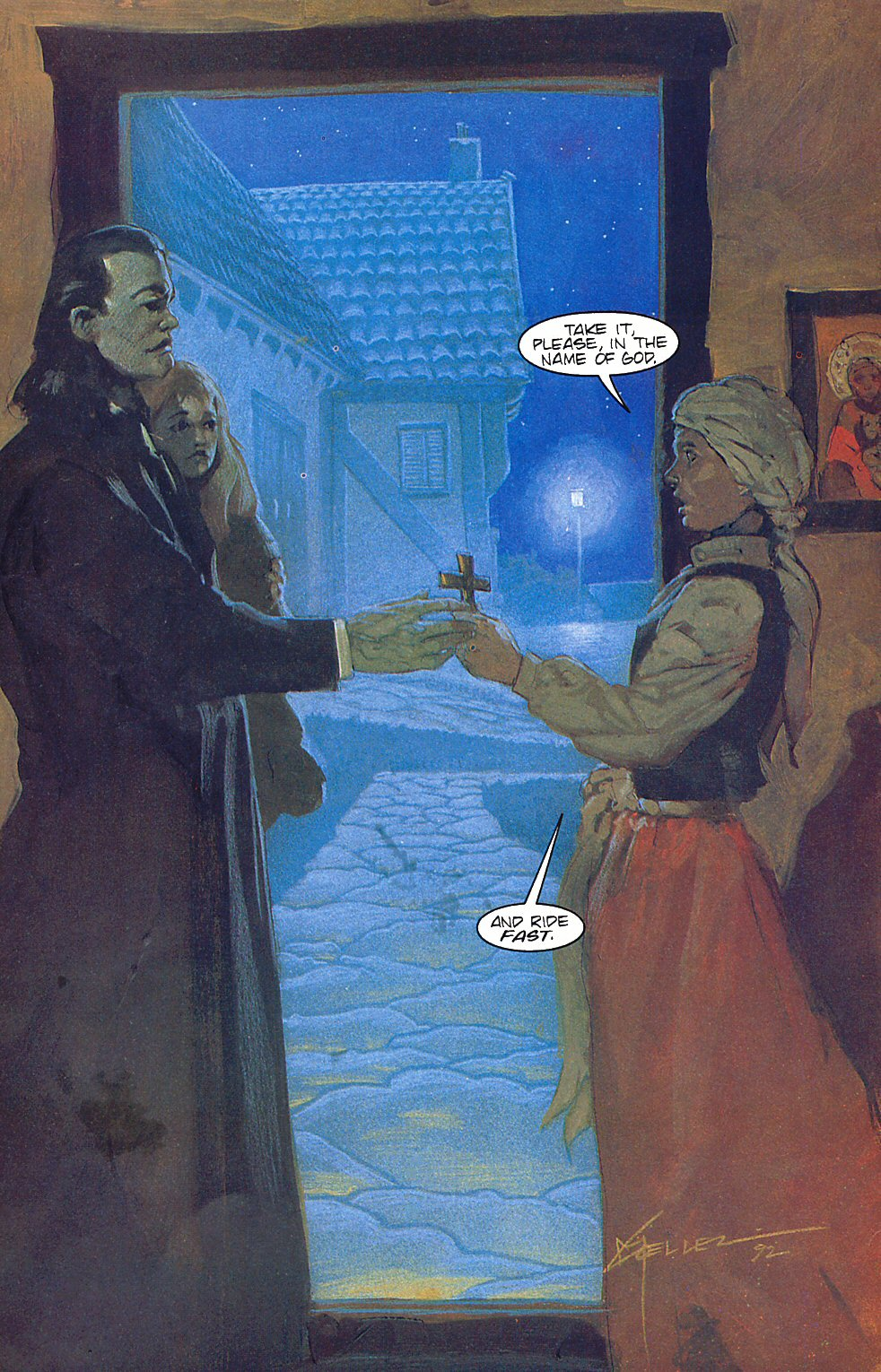 Read online Anne Rice's Interview with the Vampire comic -  Issue #6 - 33