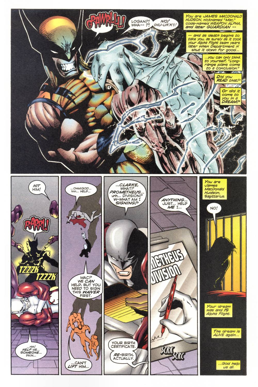 Read online Alpha Flight (1997) comic -  Issue #1 - 5