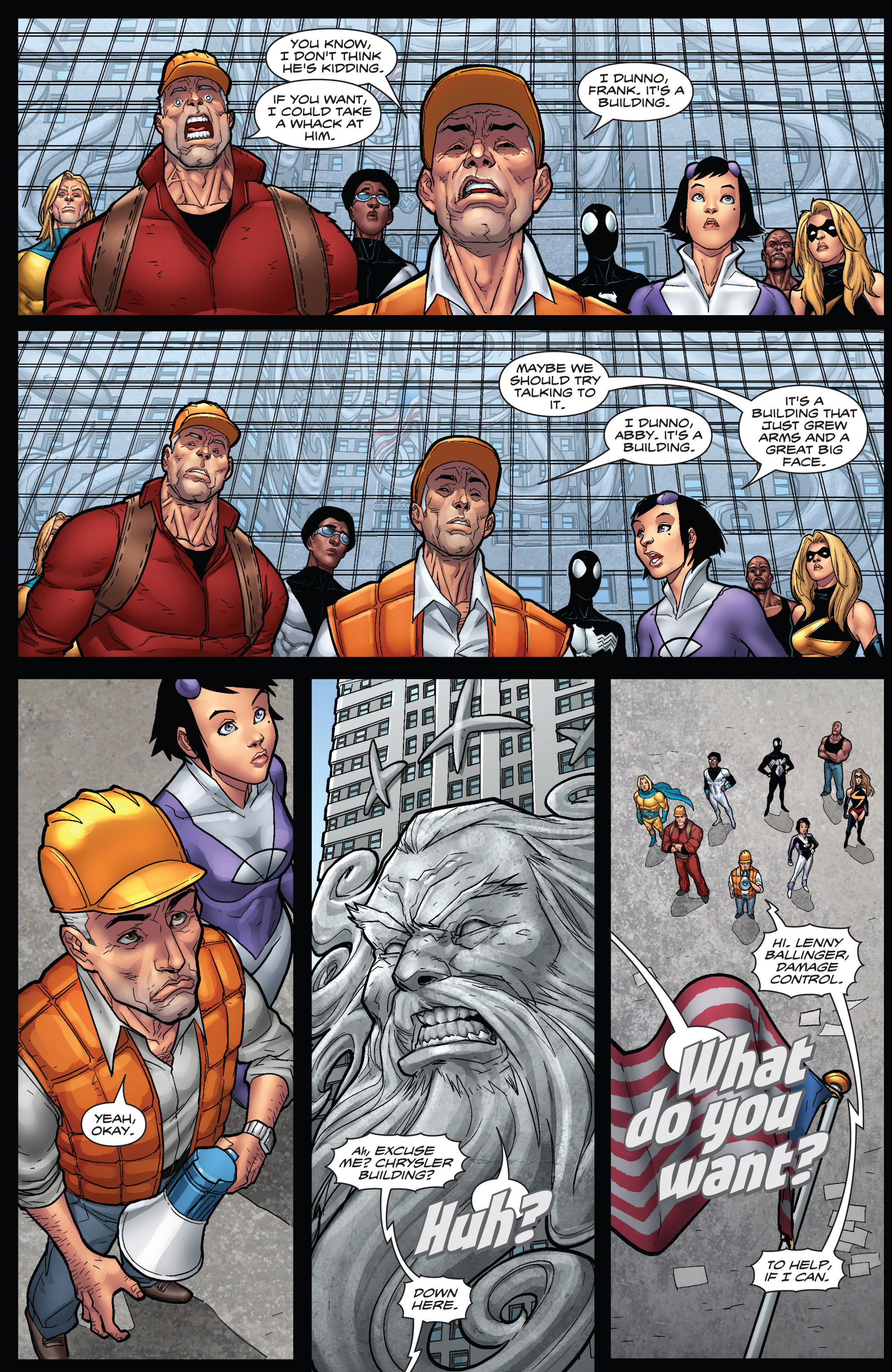 Read online WWH Aftersmash: Damage Control comic -  Issue #3 - 5