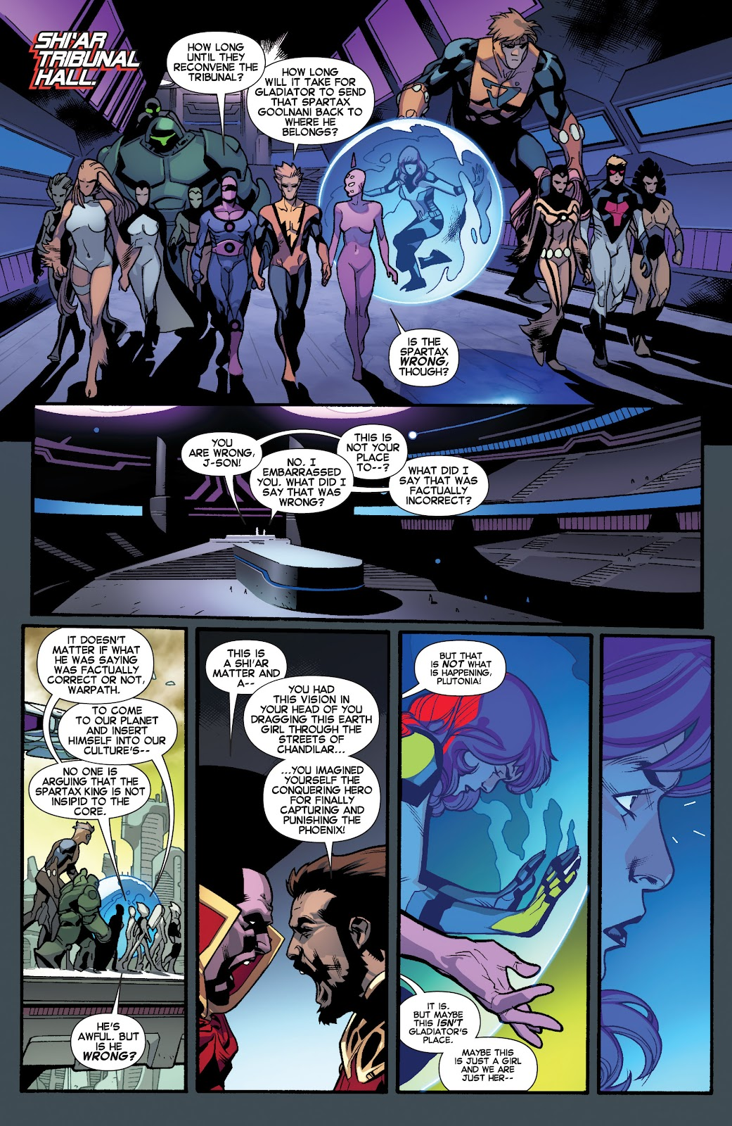 Guardians of the Galaxy/All-New X-Men: The Trial of Jean Grey issue TPB - Page 87