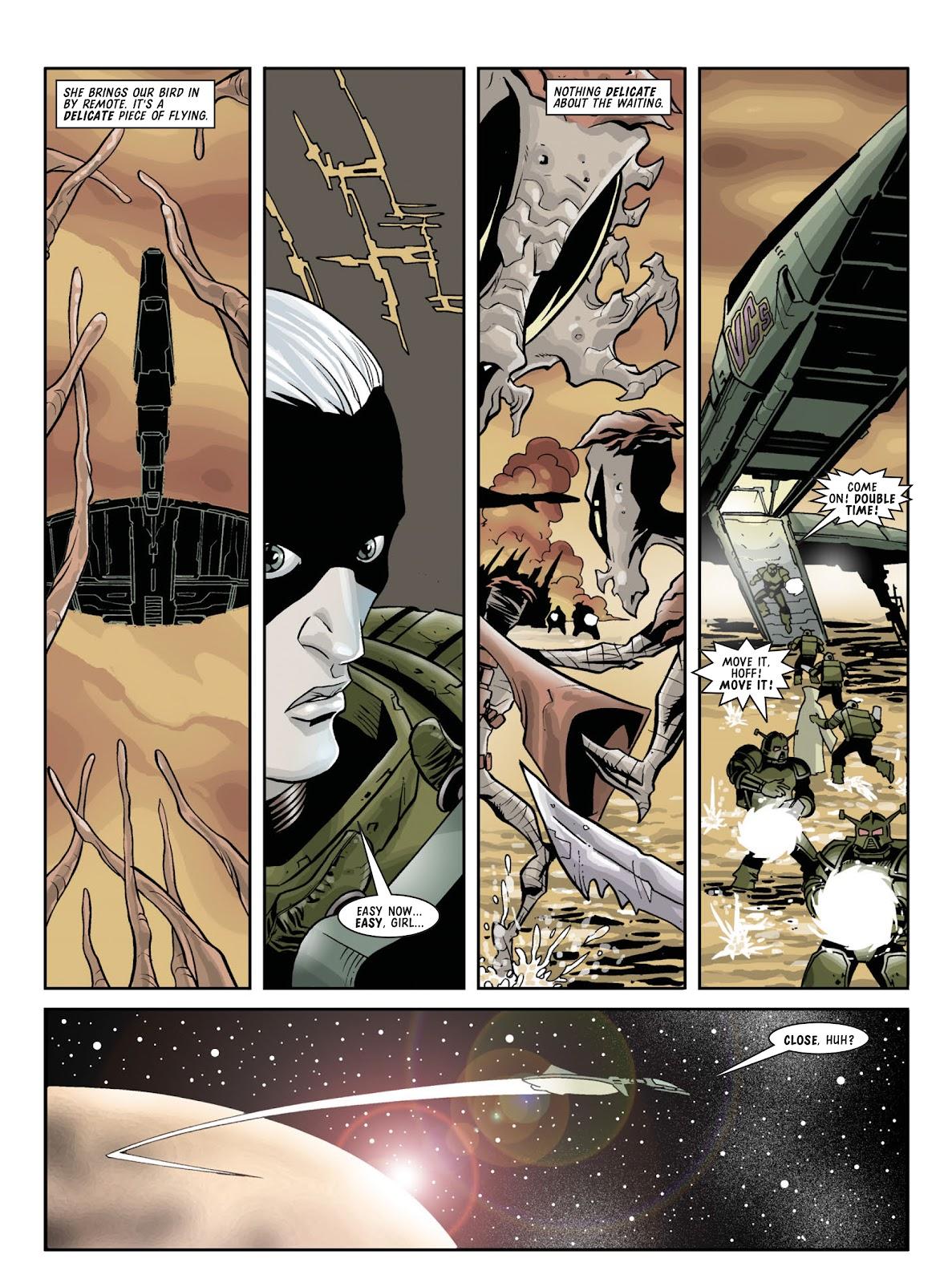 Judge Dredd Megazine (Vol. 5) Issue #381 #180 - English 101
