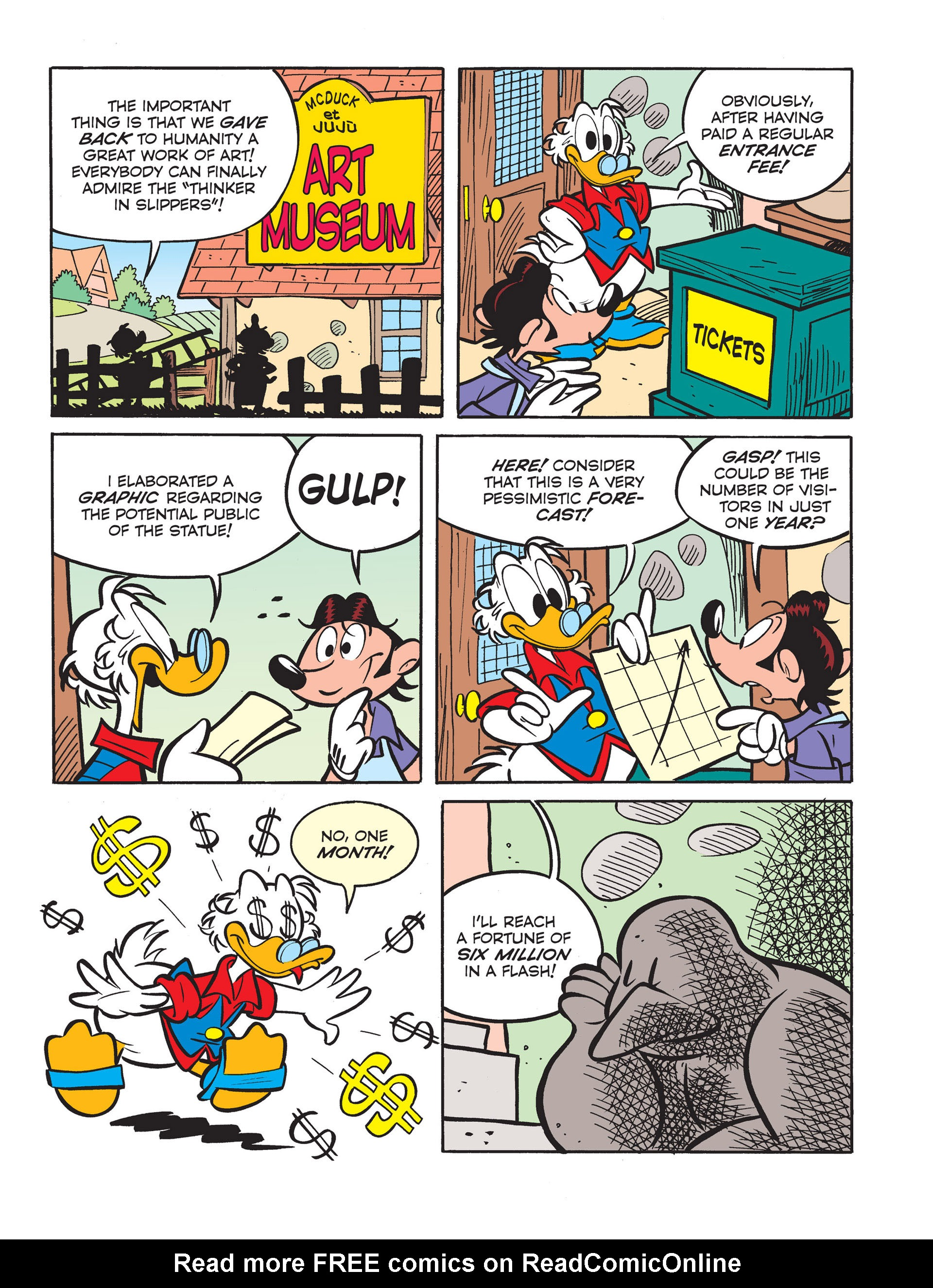Read online All of Scrooge McDuck's Millions comic -  Issue #6 - 11