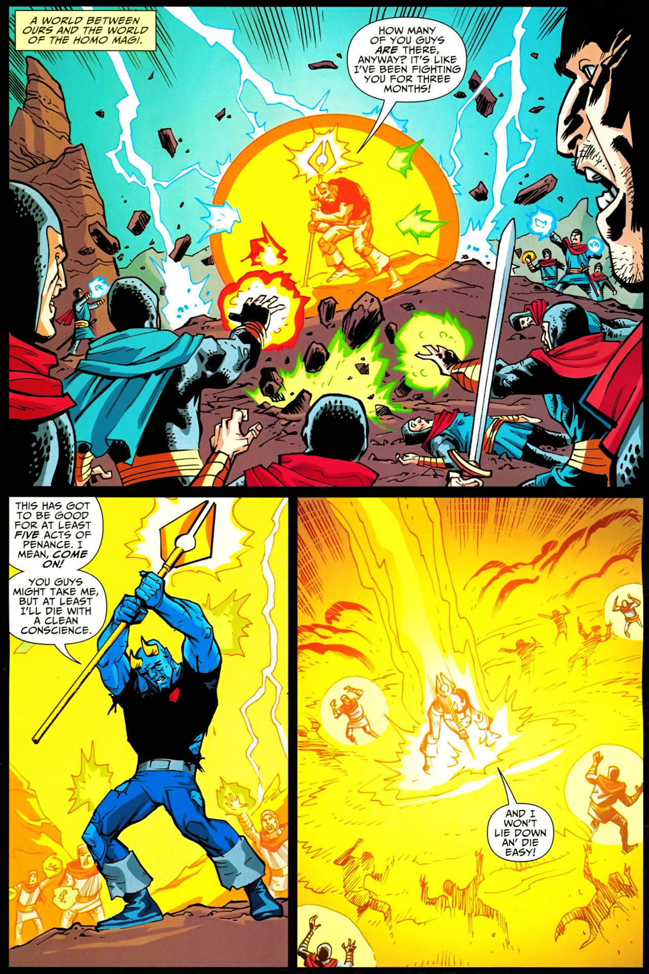 Read online Shadowpact comic -  Issue #20 - 8
