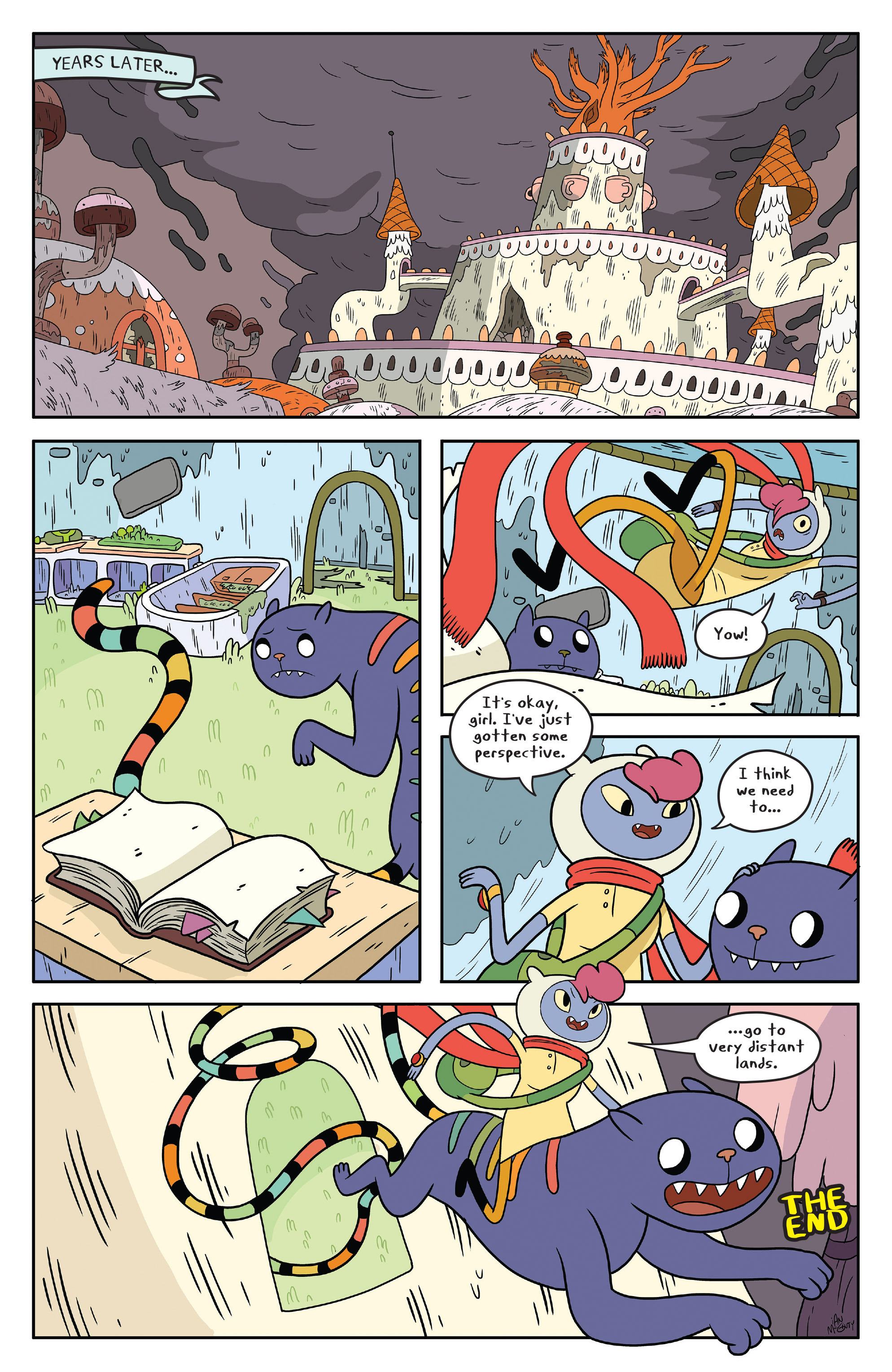 Read online Adventure Time comic -  Issue #50 - 31