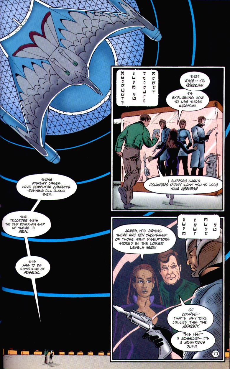 Read online Star Trek: The Ashes of Eden comic -  Issue # Full - 78