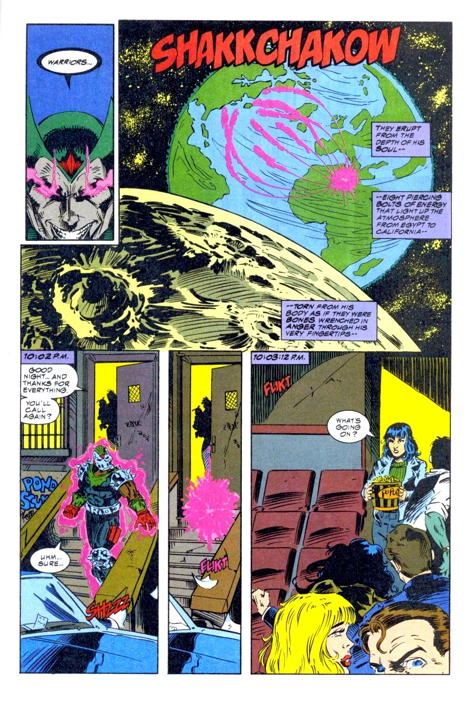 The New Warriors Issue #47 #51 - English 21