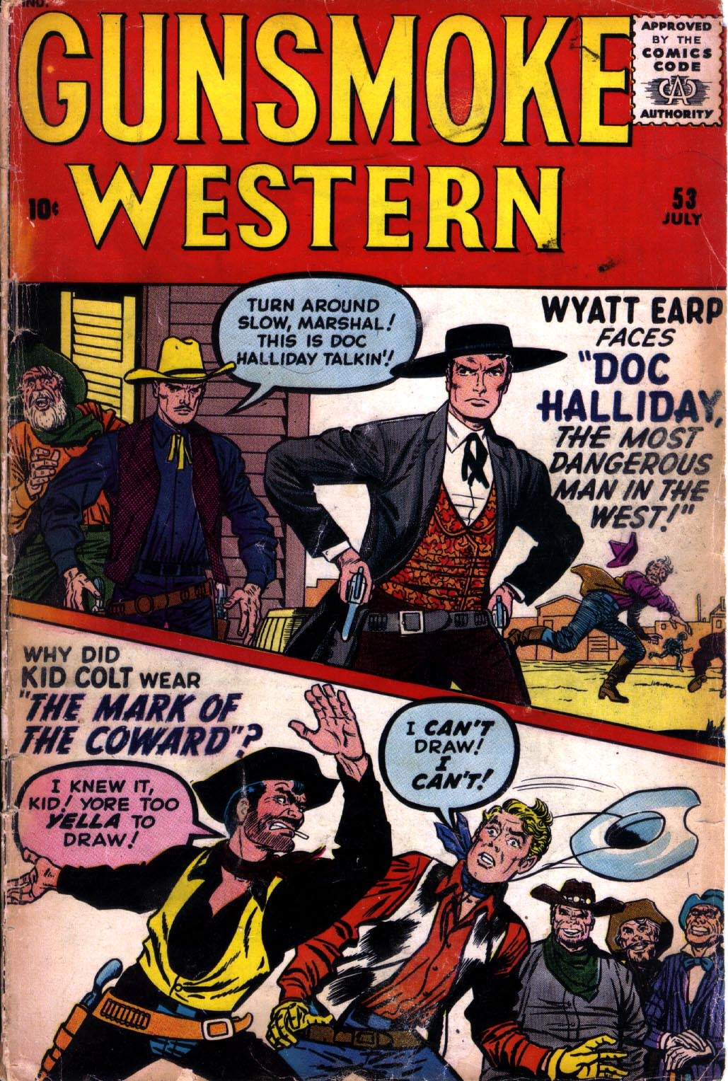 Gunsmoke Western issue 53 - Page 1