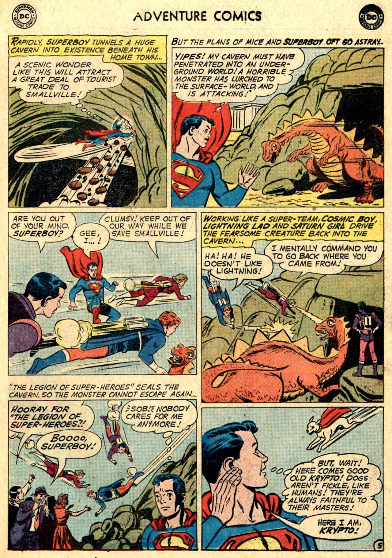 Read online Adventure Comics (1938) comic -  Issue #267 - 7