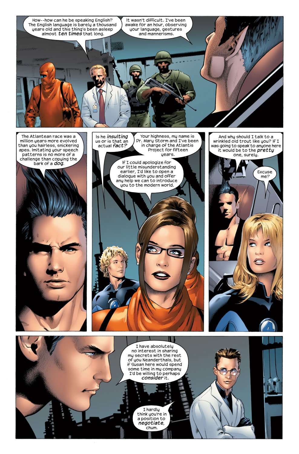 Read online Ultimate Fantastic Four (2004) comic -  Issue #25 - 12