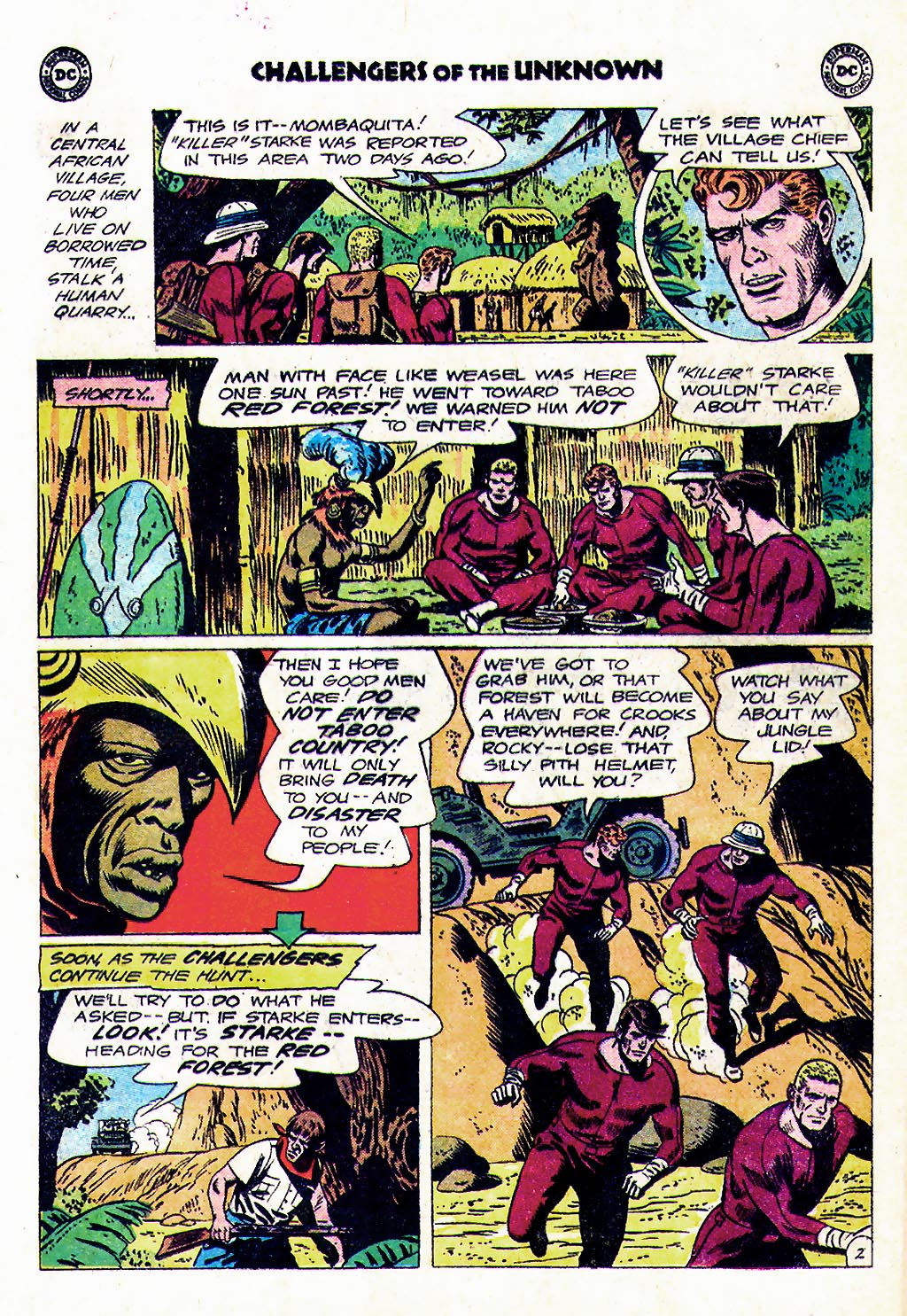 Challengers of the Unknown (1958) issue 38 - Page 4