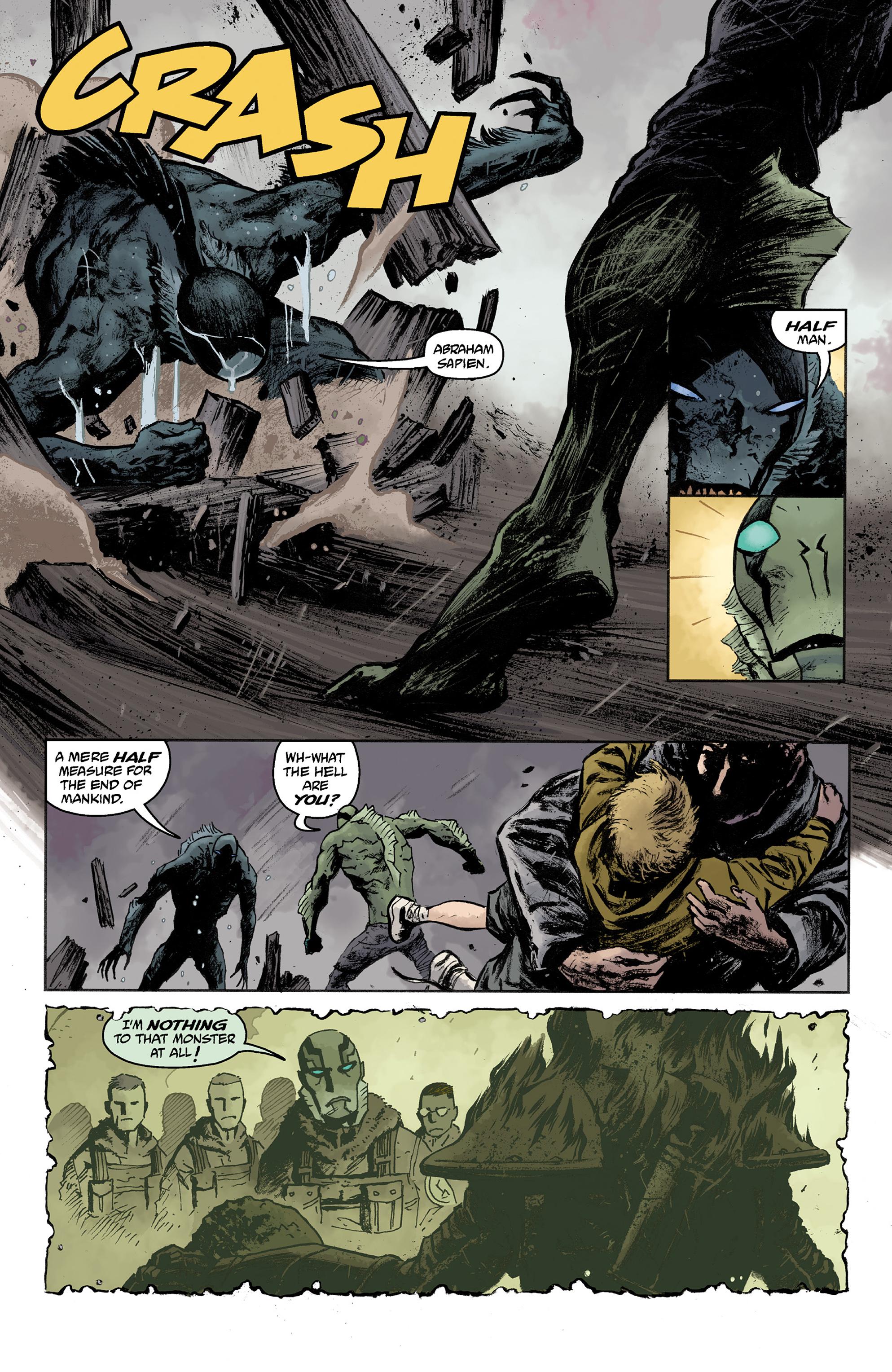 Read online Abe Sapien comic -  Issue #36 - 10