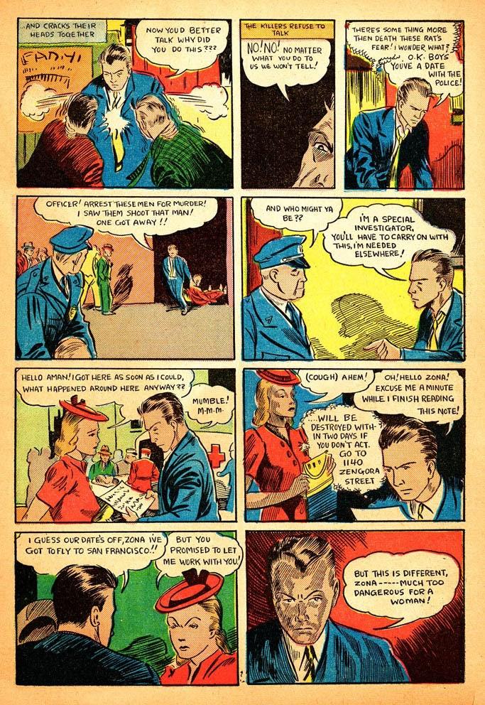 Read online Amazing Man Comics comic -  Issue #12 - 5
