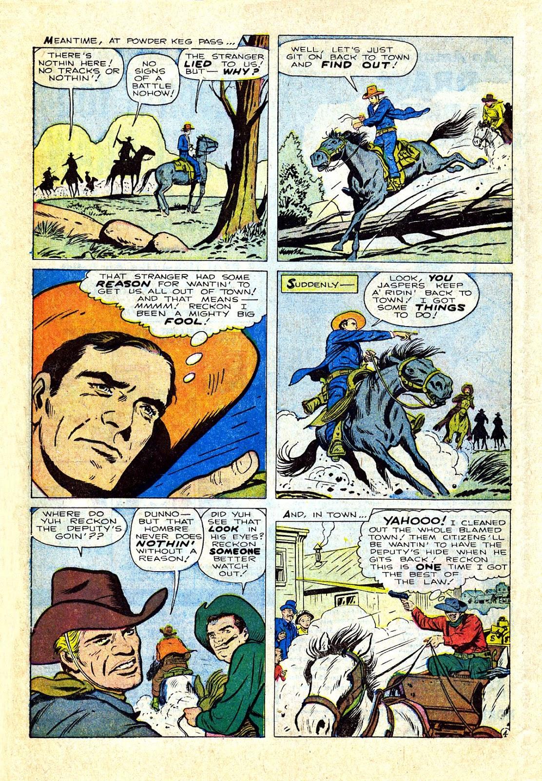 Gunsmoke Western issue 75 - Page 16