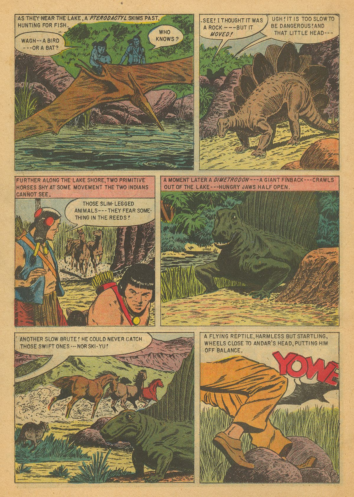 Read online Turok, Son of Stone comic -  Issue #8 - 22
