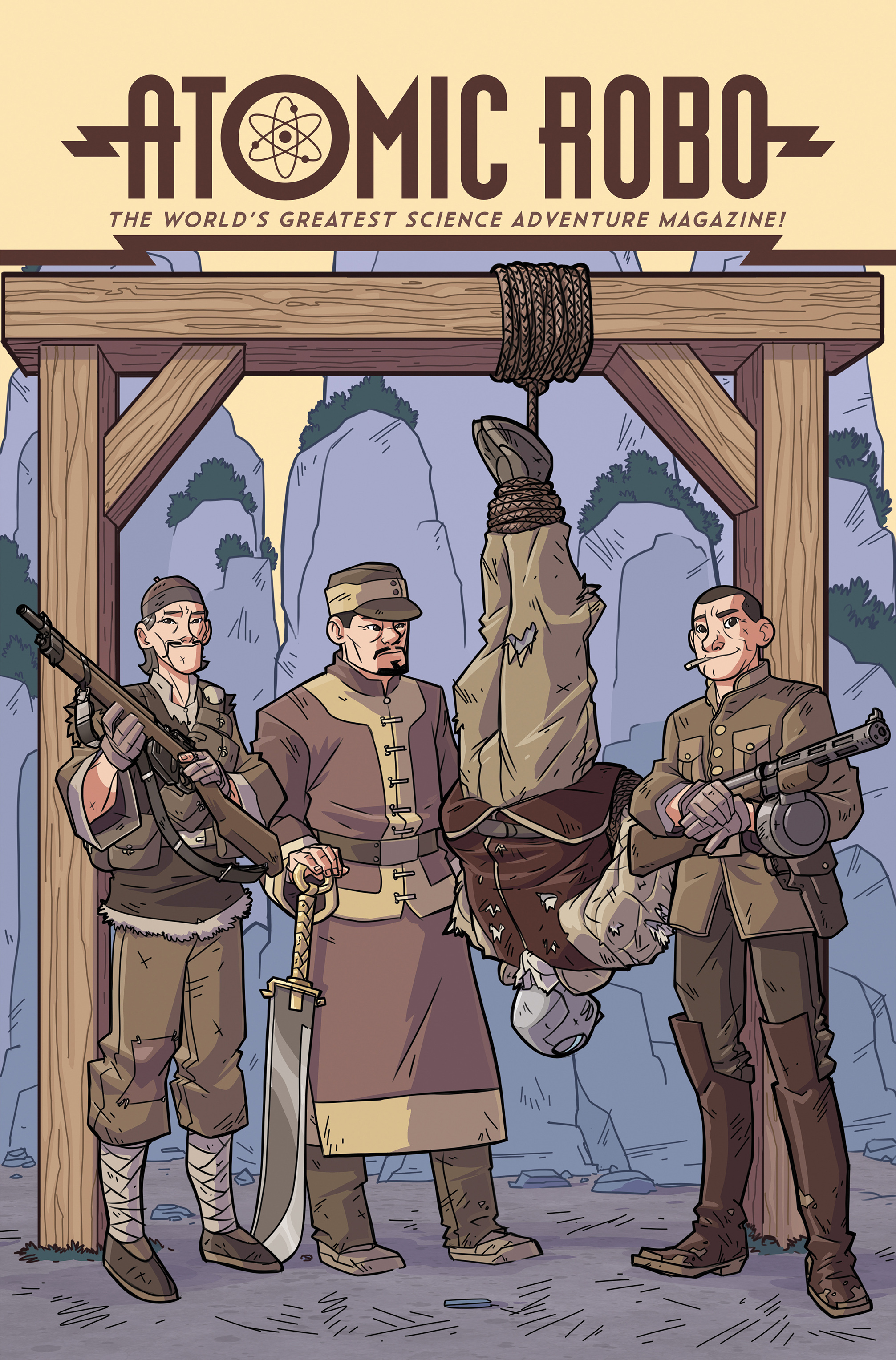 Read online Atomic Robo and the Temple of Od comic -  Issue #4 - 1