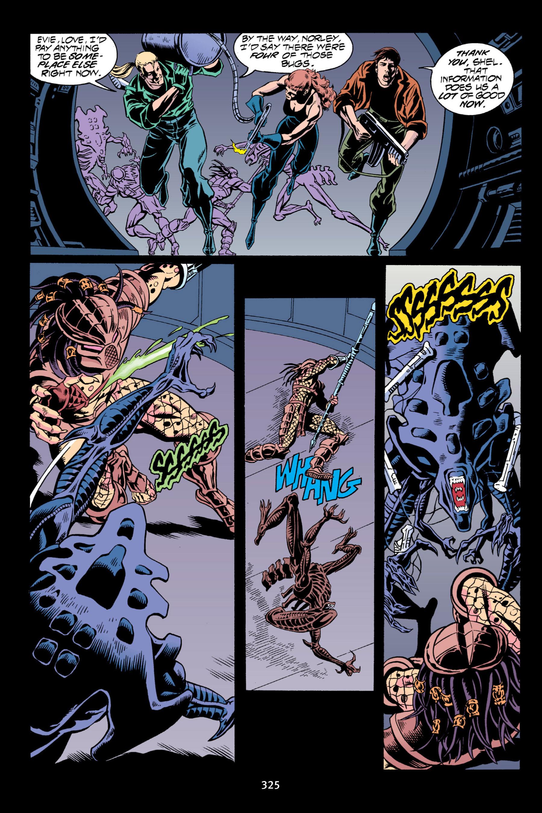 Read online Aliens vs. Predator Omnibus comic -  Issue # _TPB 2 Part 3 - 100