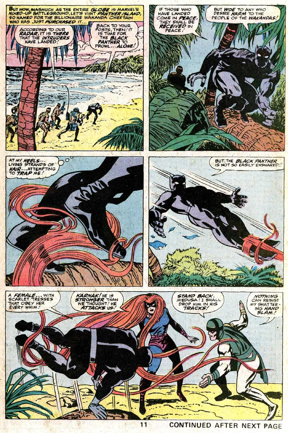 Giant-Size Fantastic Four issue 5 - Page 13