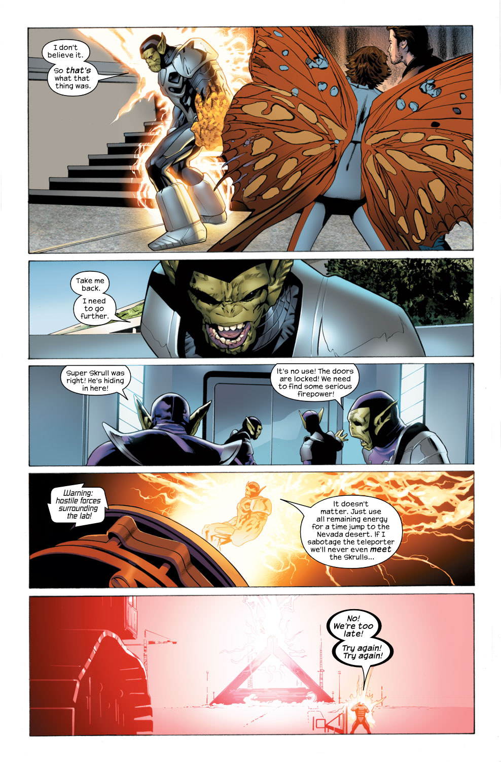 Read online Ultimate Fantastic Four (2004) comic -  Issue #29 - 16