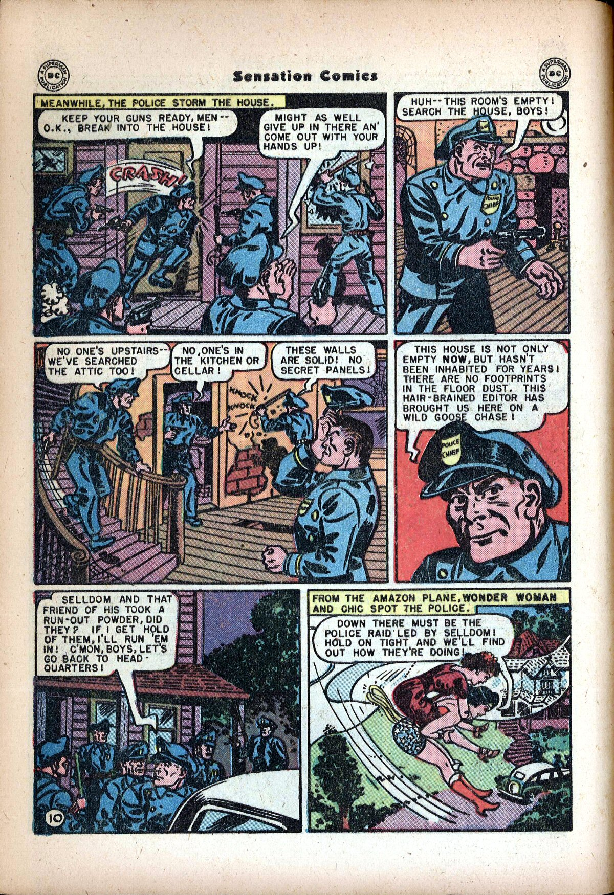 Read online Sensation (Mystery) Comics comic -  Issue #72 - 12