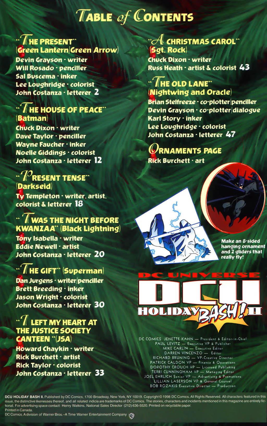 DC Universe Holiday Bash 2 Page 2
