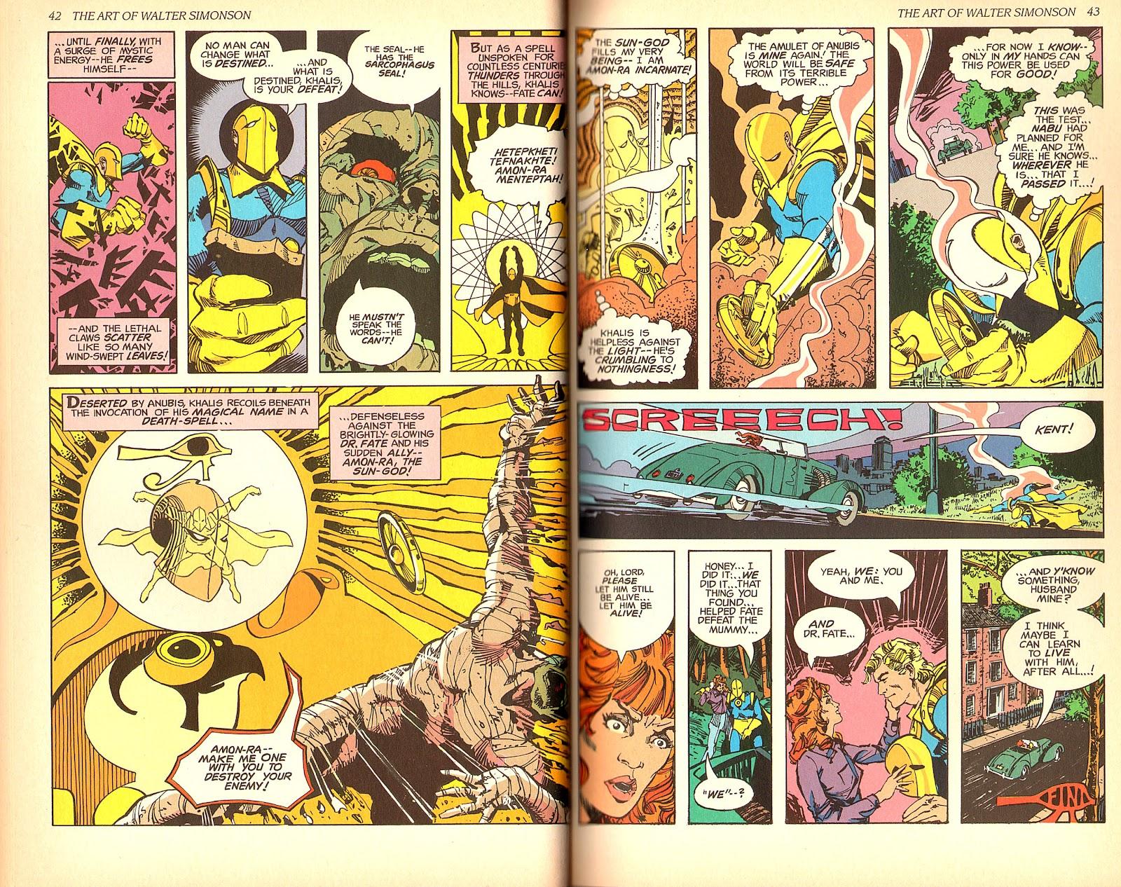Read online The Art of Walter Simonson comic -  Issue # TPB - 23
