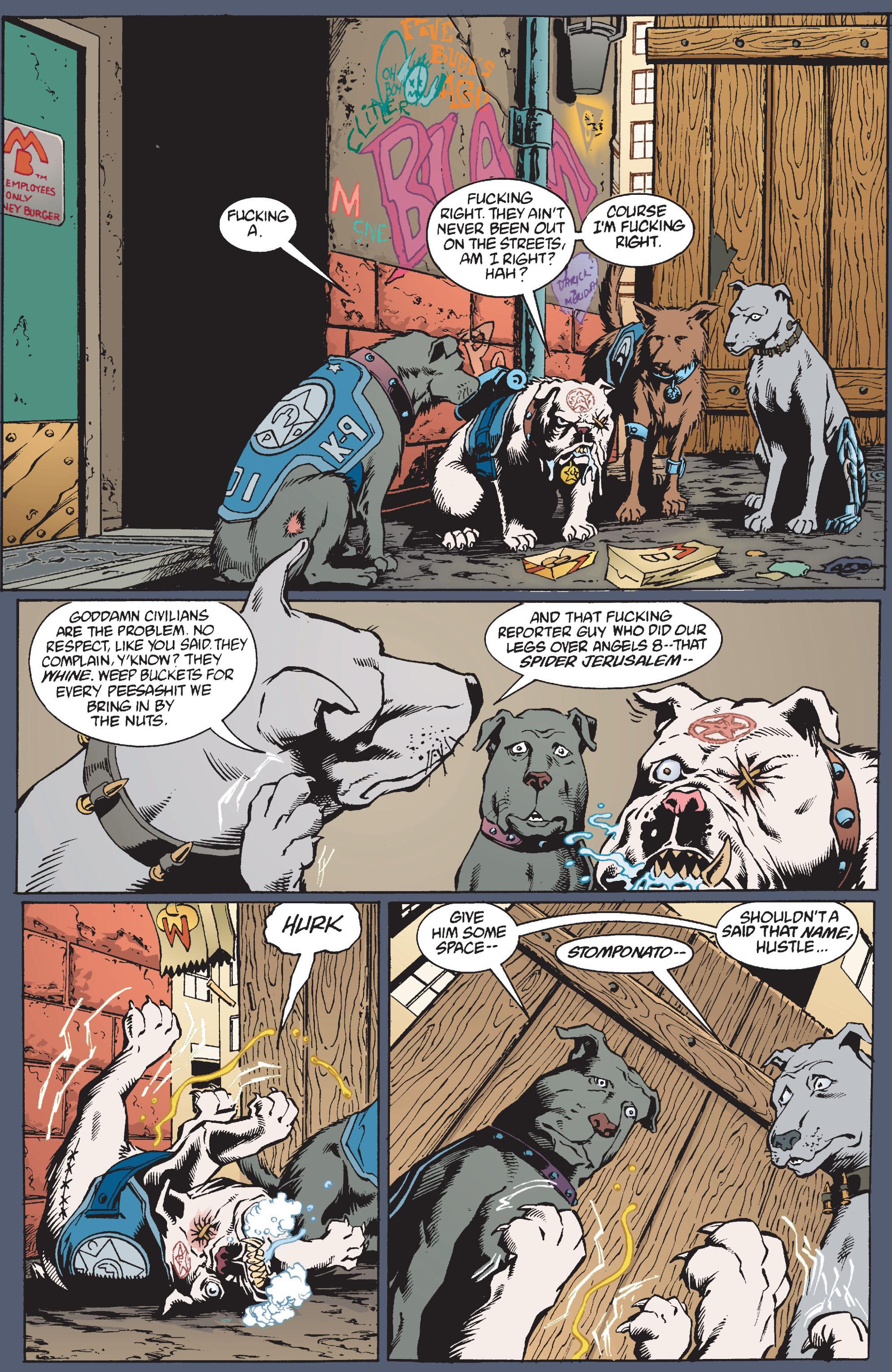 Read online Transmetropolitan comic -  Issue #10 - 18