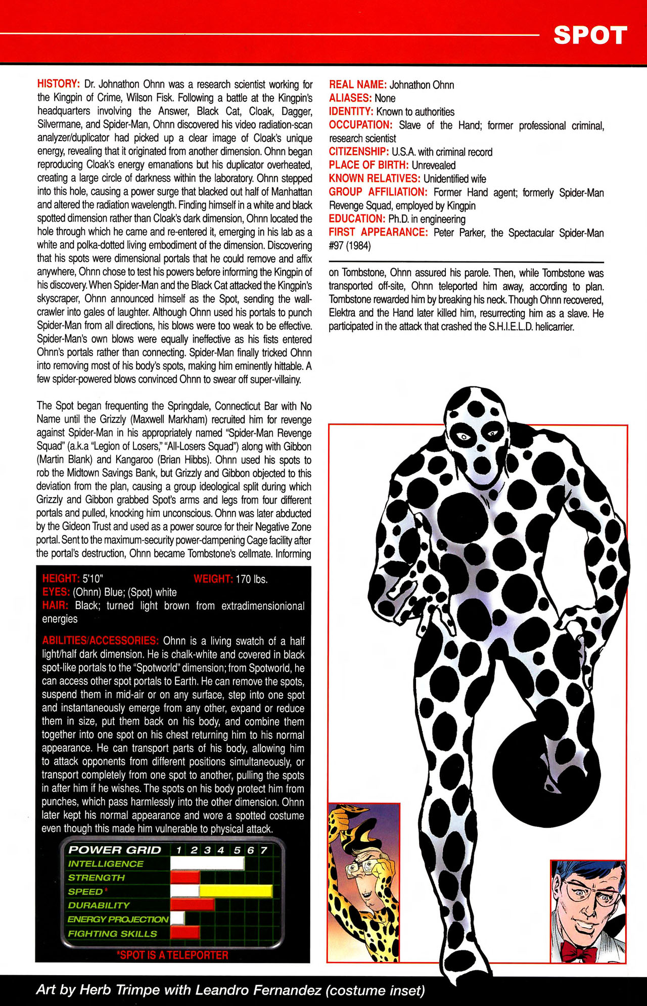 Read online All-New Official Handbook of the Marvel Universe A to Z comic -  Issue #10 - 47