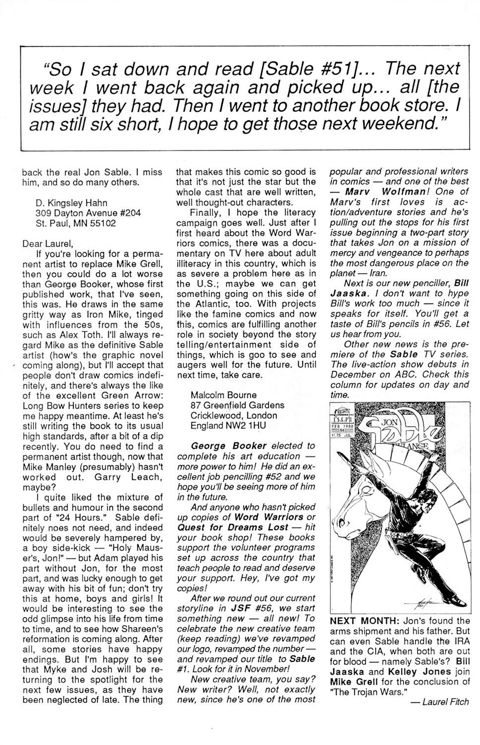 Jon Sable, Freelance issue 54 - Page 30