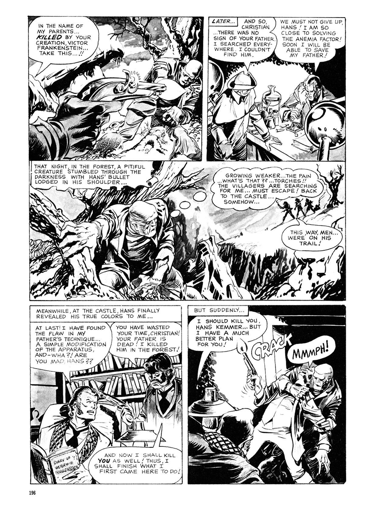 Read online Eerie Archives comic -  Issue # TPB 8 - 197