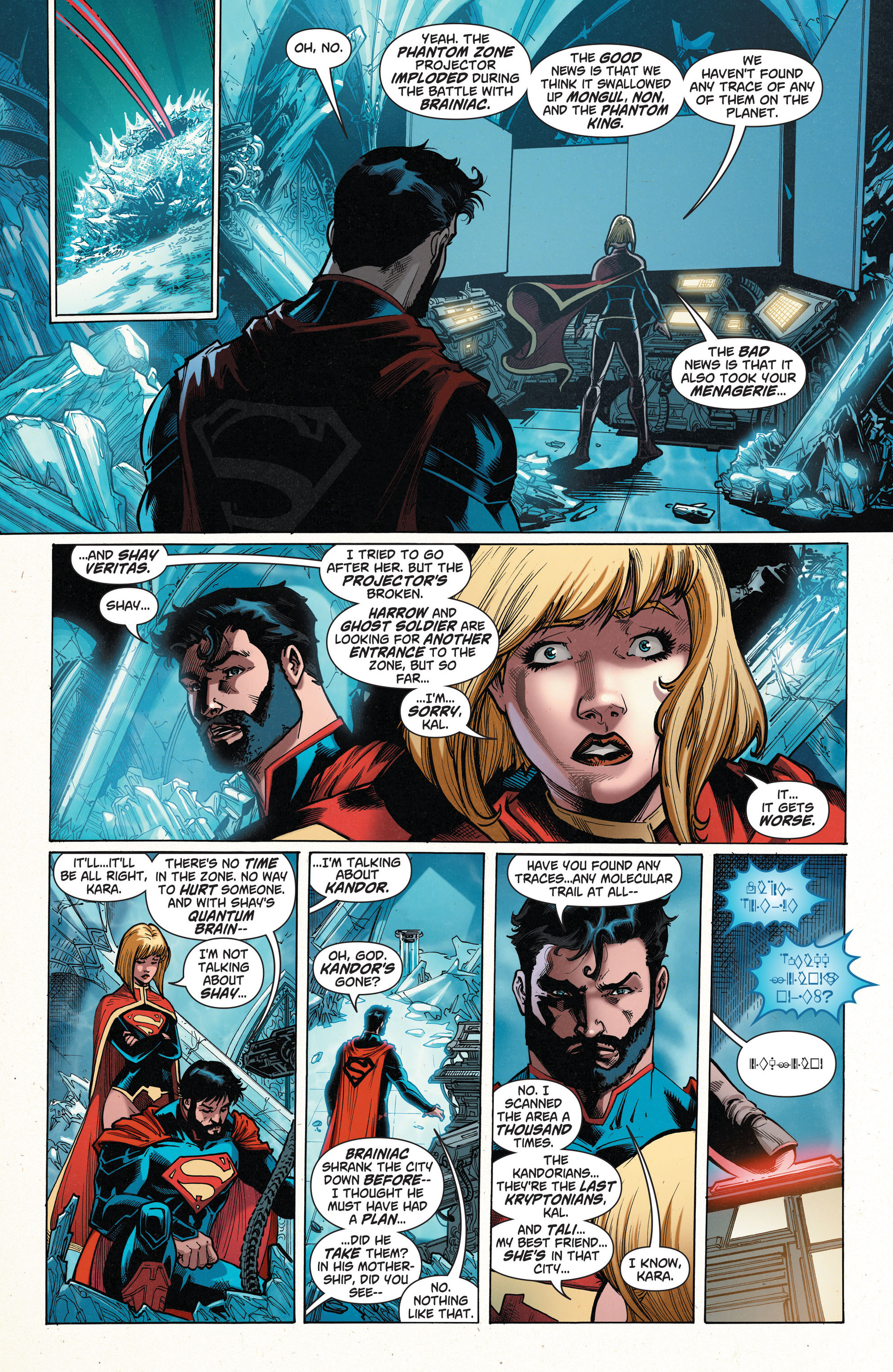 Read online Action Comics (2011) comic -  Issue #35 - 7