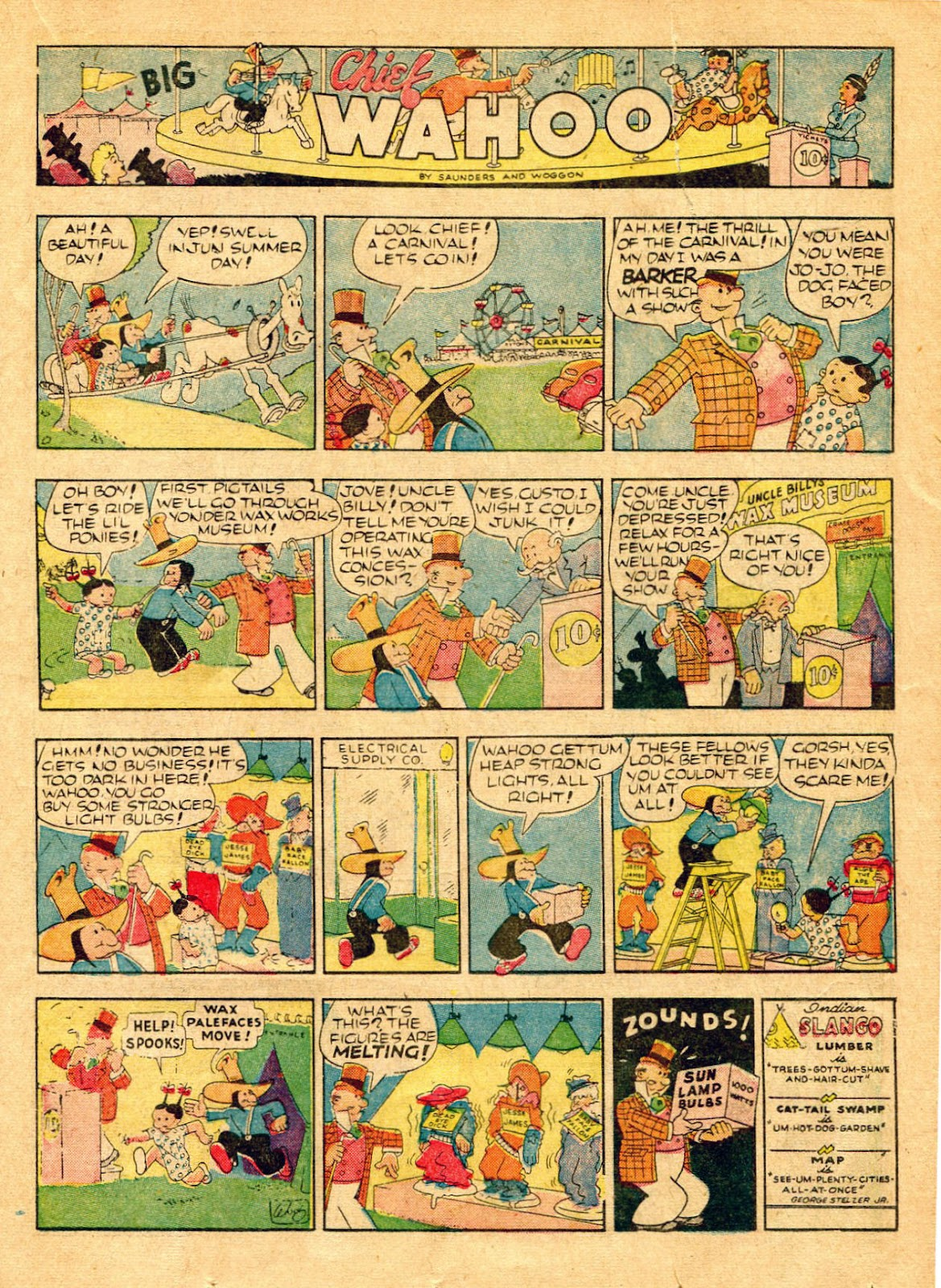 Read online Famous Funnies comic -  Issue #62 - 44