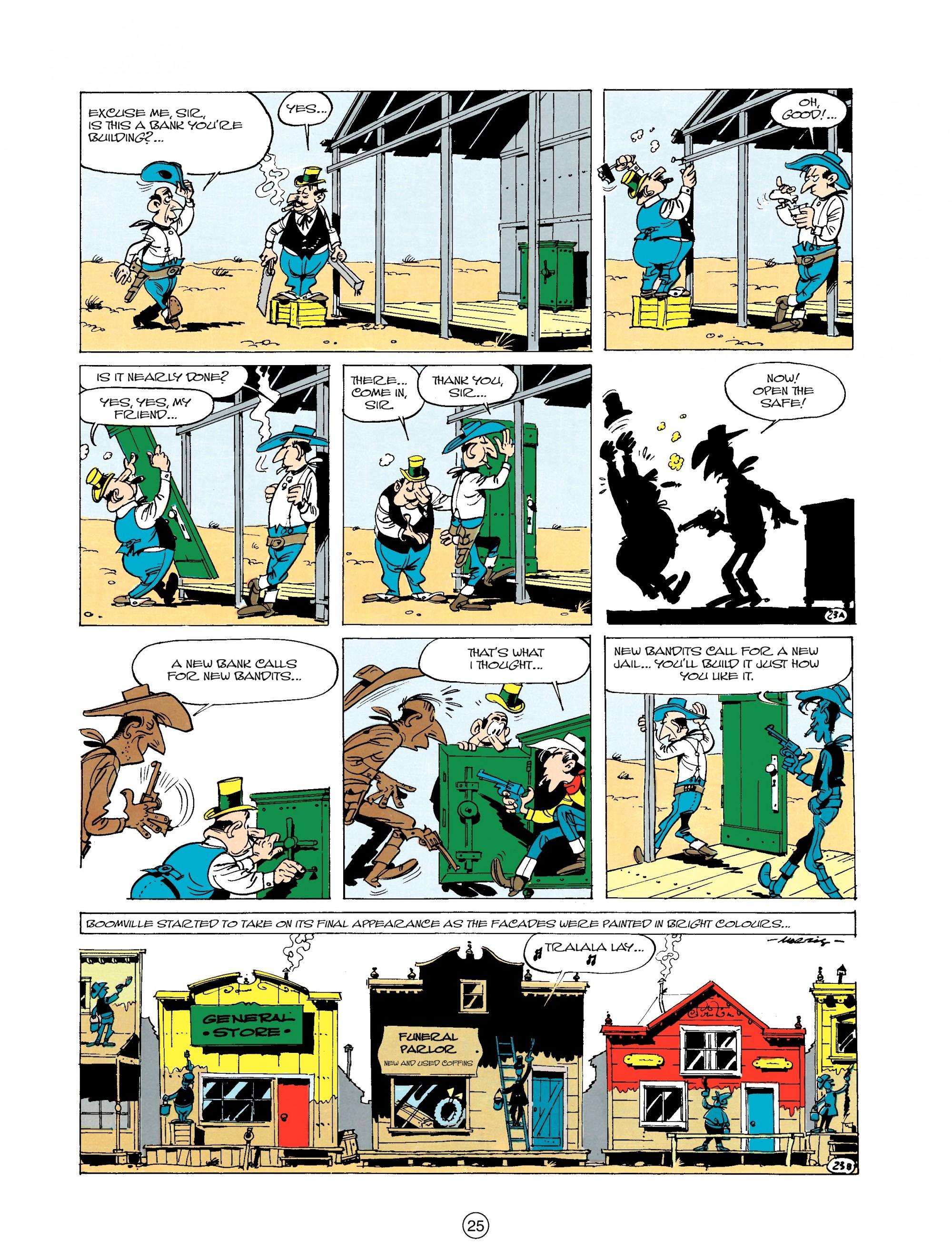 Read online A Lucky Luke Adventure comic -  Issue #20 - 25