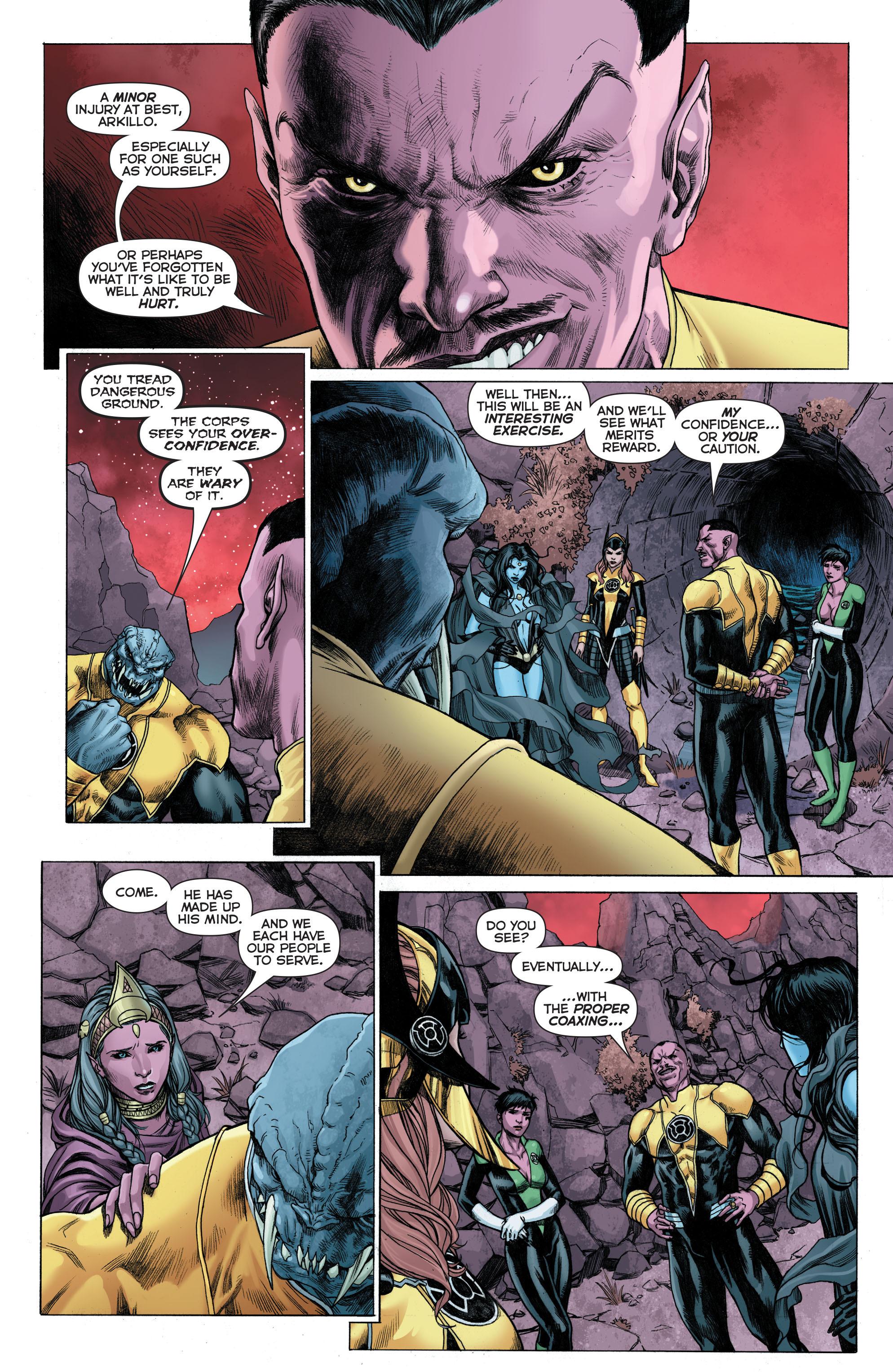 Read online Sinestro comic -  Issue # Annual 1 - 7