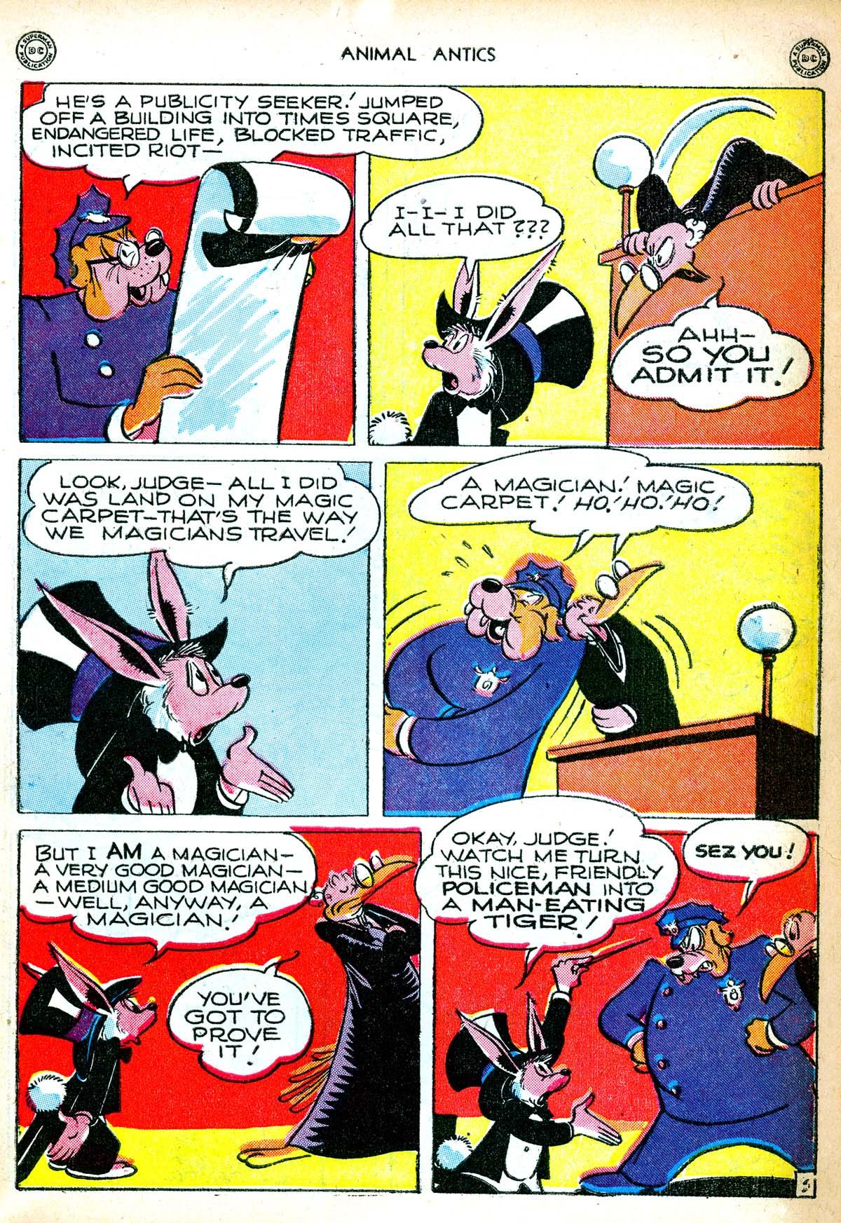 Read online Animal Antics comic -  Issue #6 - 5