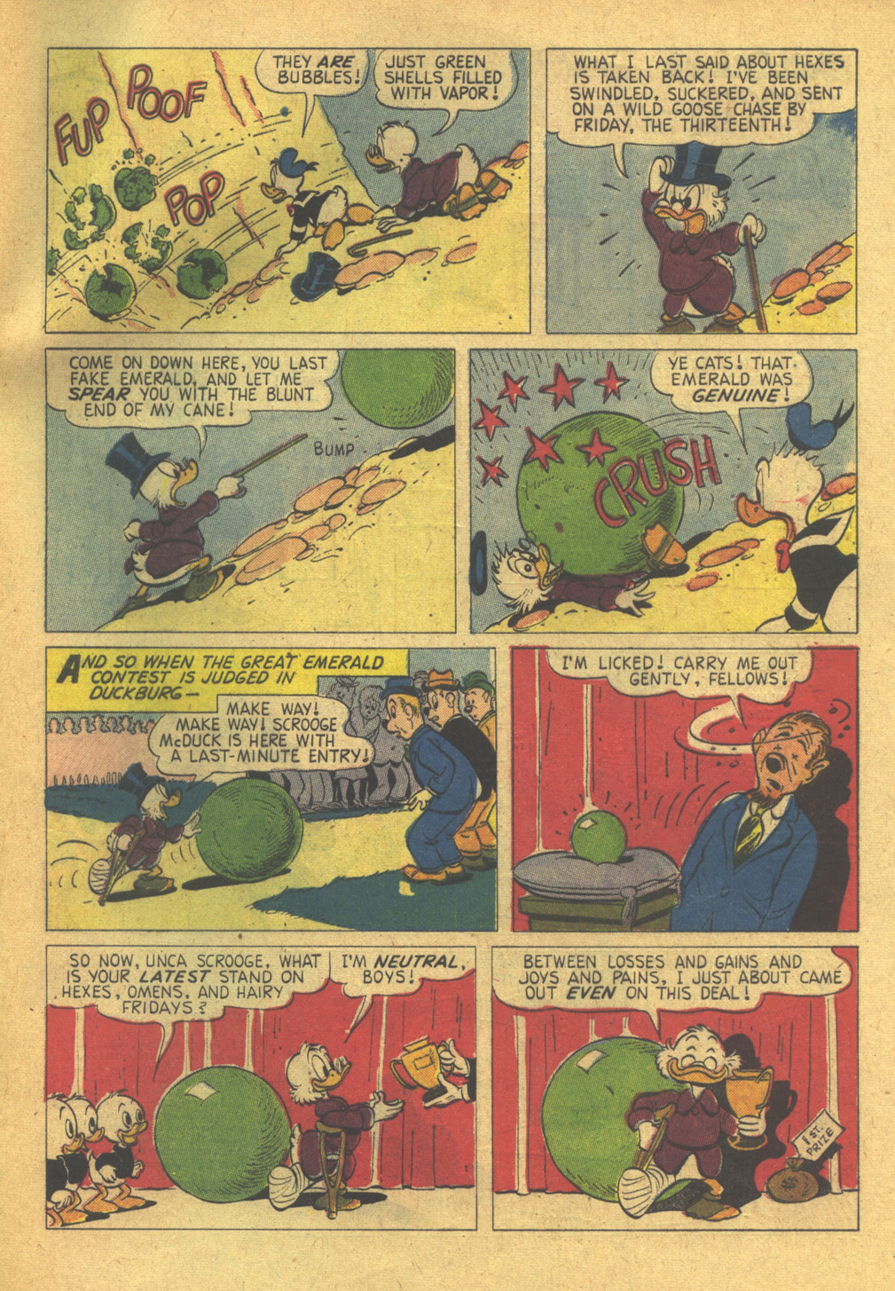 Read online Uncle Scrooge (1953) comic -  Issue #31 - 33