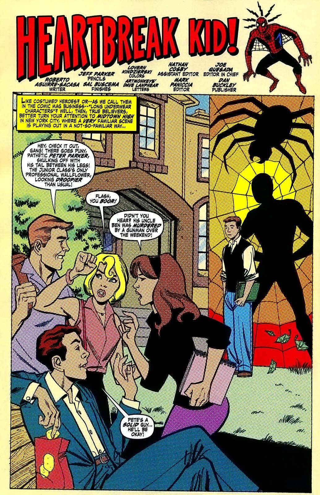 Read online Amazing Fantasy (2004) comic -  Issue #15 - 33
